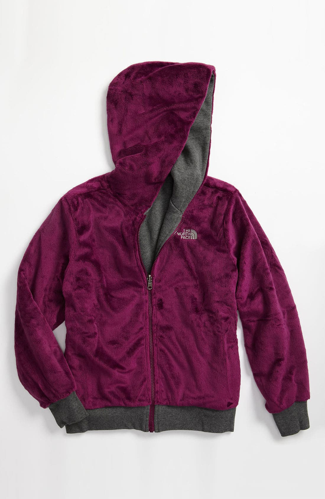 Alternate Image 1 Selected - The North Face 'Elloise' Reversible Hoodie (Big Girls)