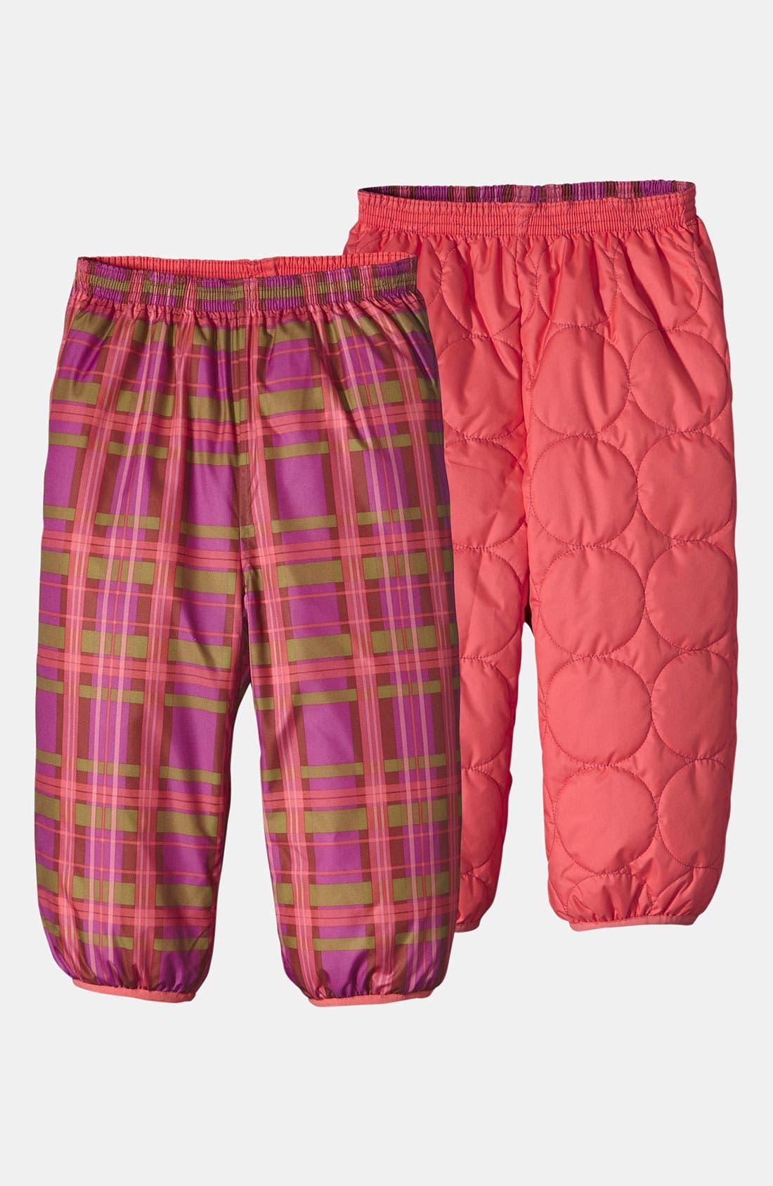 Alternate Image 1 Selected - Patagonia 'Puff-Ball' Reversible Snow Pants (Toddler)