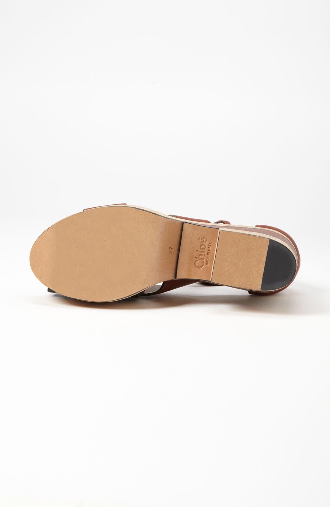 Alternate Image 4  - Chloé Cork Sandal