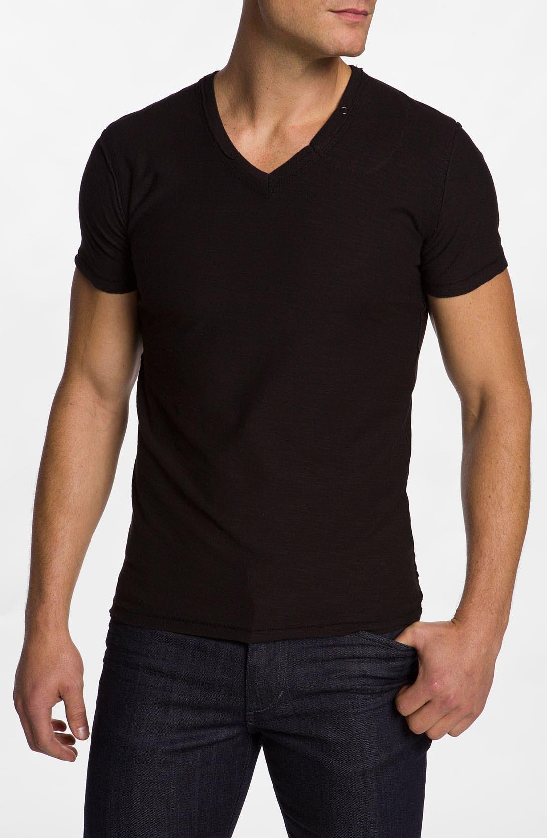 Main Image - DIESEL® Jacket, T-Shirt & Slim Tapered Leg Jeans