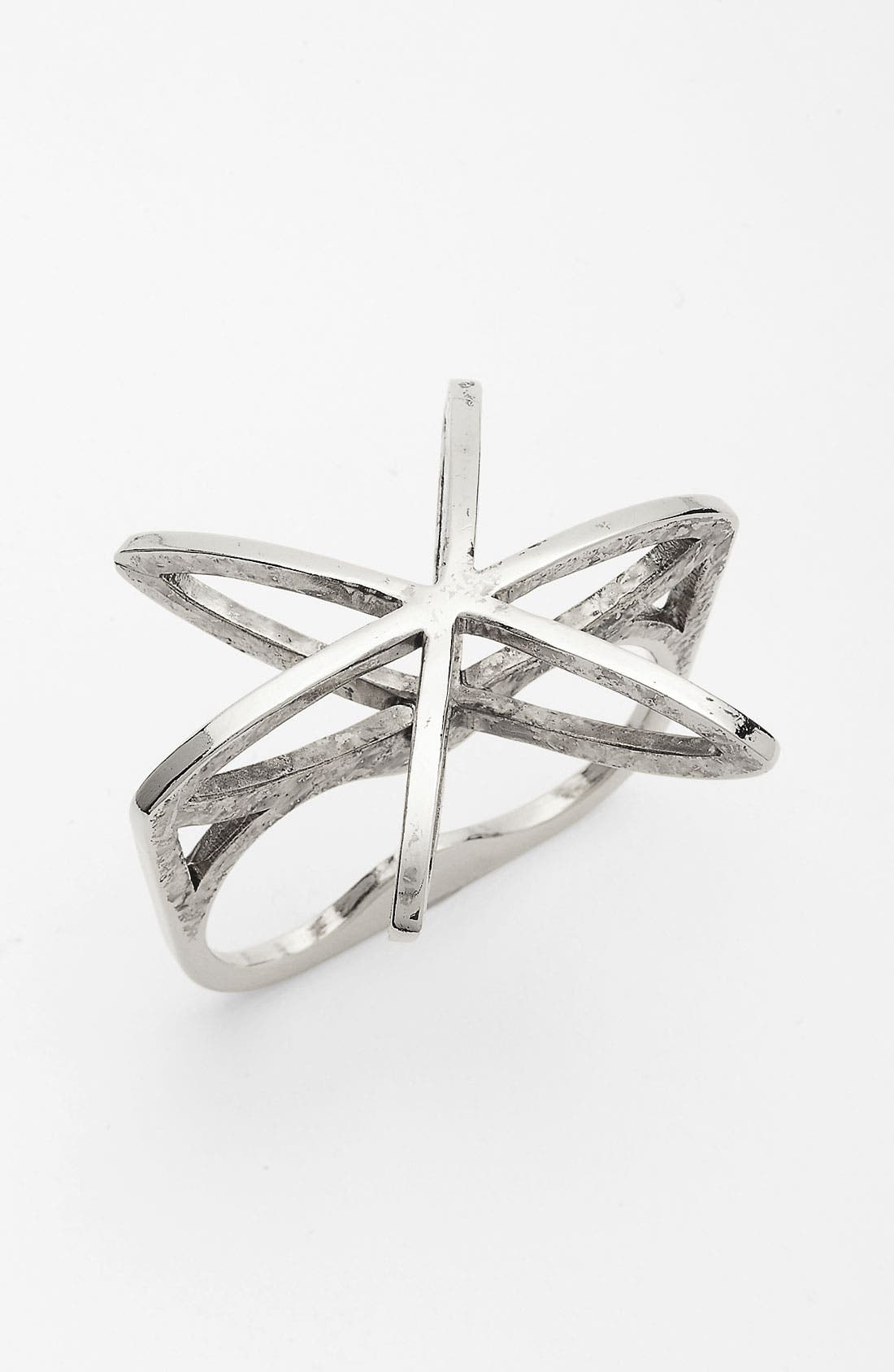 Alternate Image 1 Selected - Low Luv 'Cosmos' Double Finger Ring