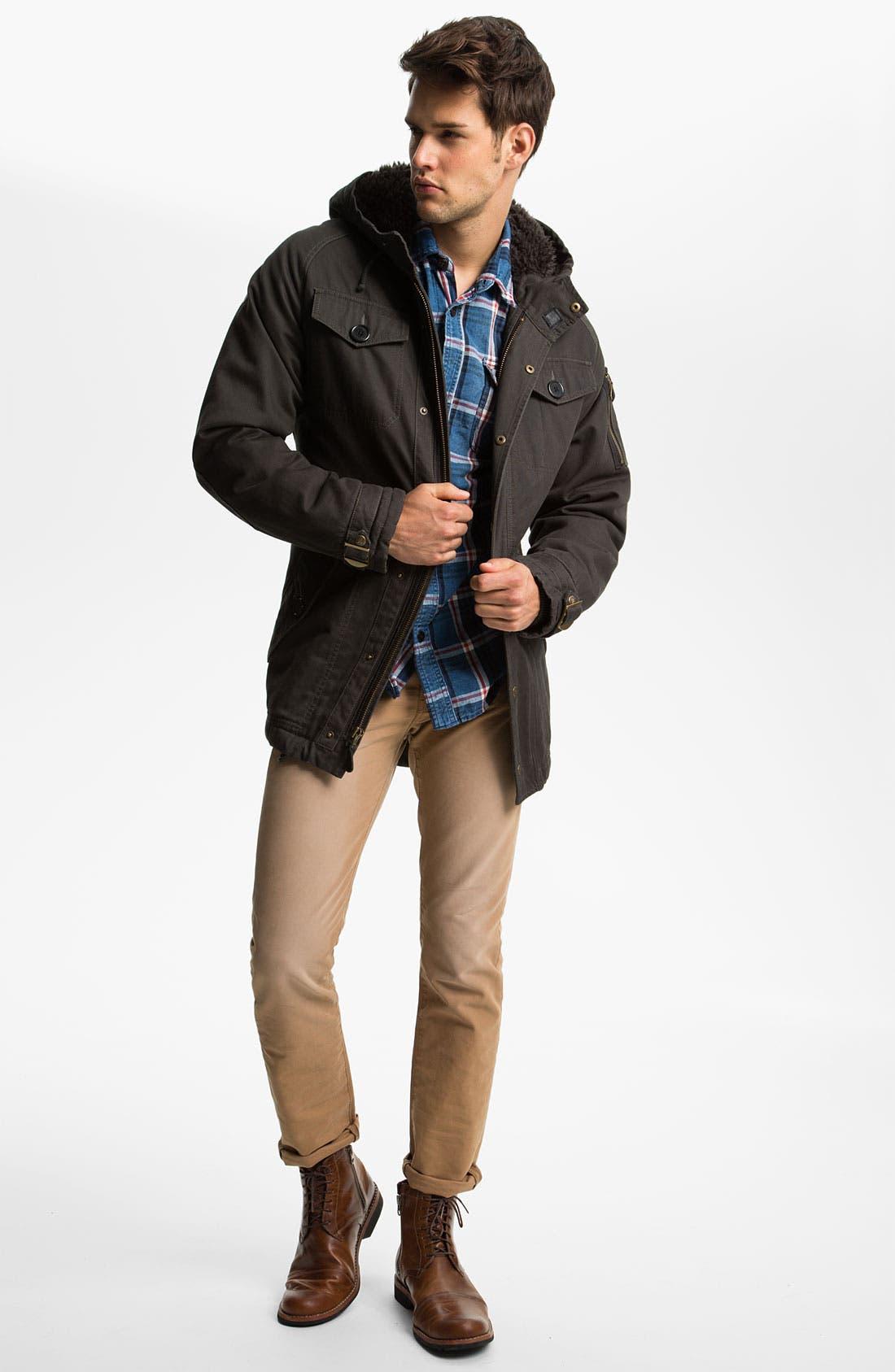 Alternate Image 5  - Levi's® '511™' Skinny Leg Jeans (Heavy Dobby Caraway)