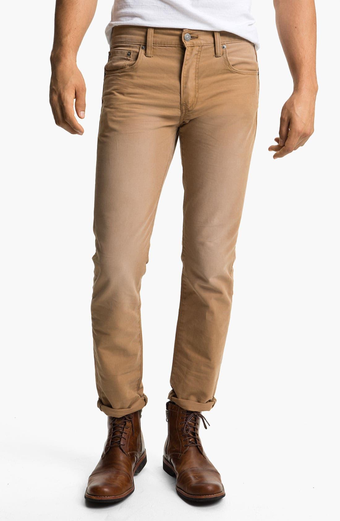 Alternate Image 2  - Levi's® '511™' Skinny Leg Jeans (Heavy Dobby Caraway)