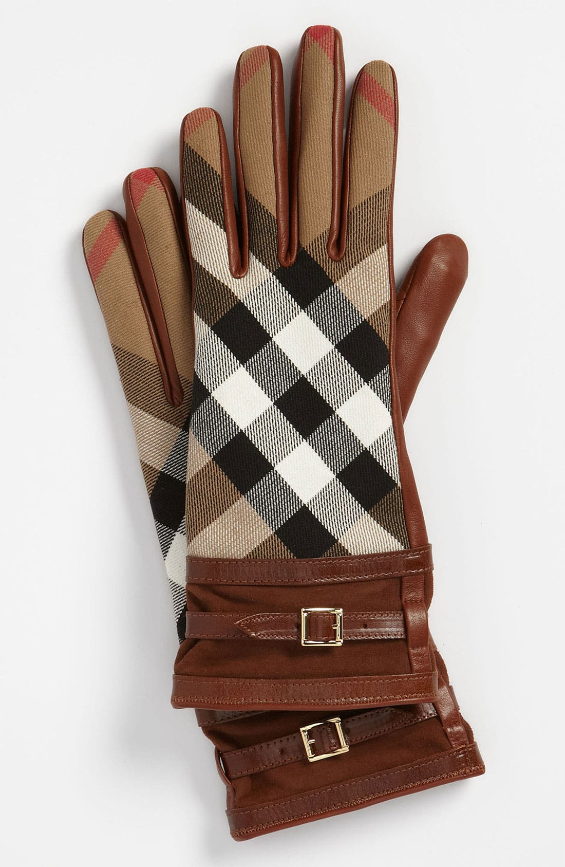Main Image - Burberry 'House Check' Gloves