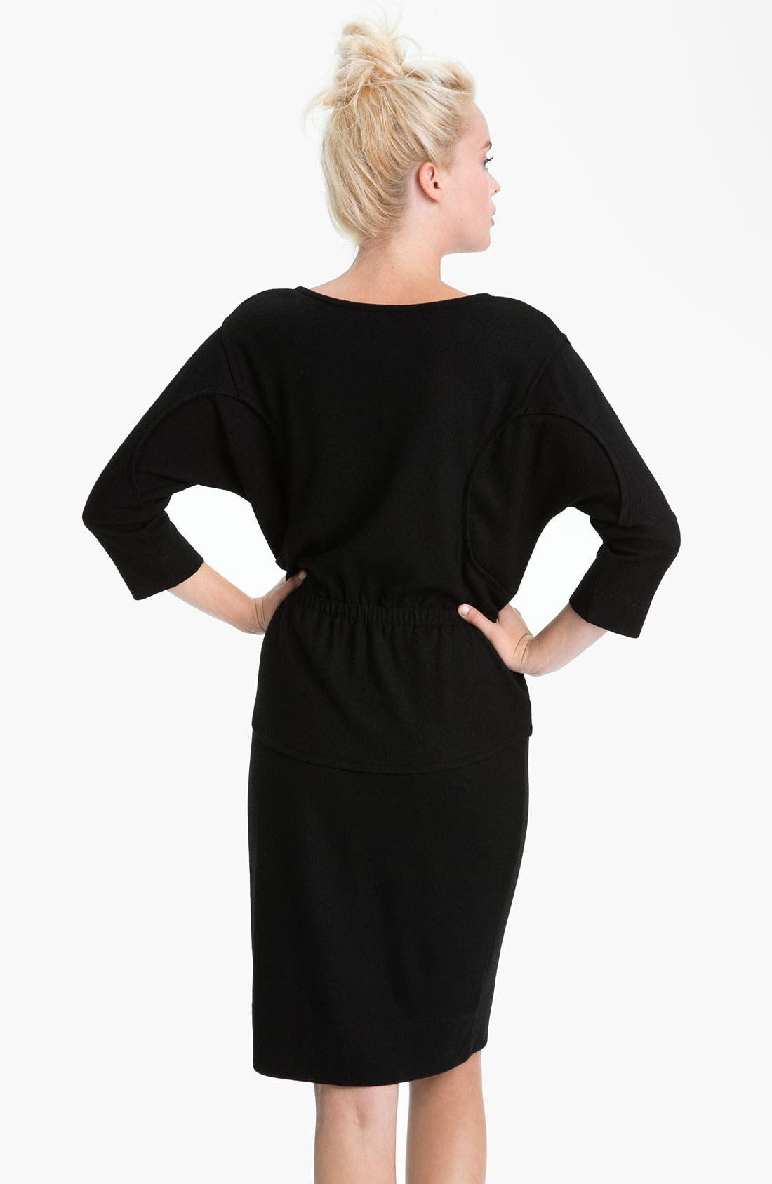 Alternate Image 2  - MARC BY MARC JACOBS 'Fiona' Seamed Dolman Sleeve Wool Dress