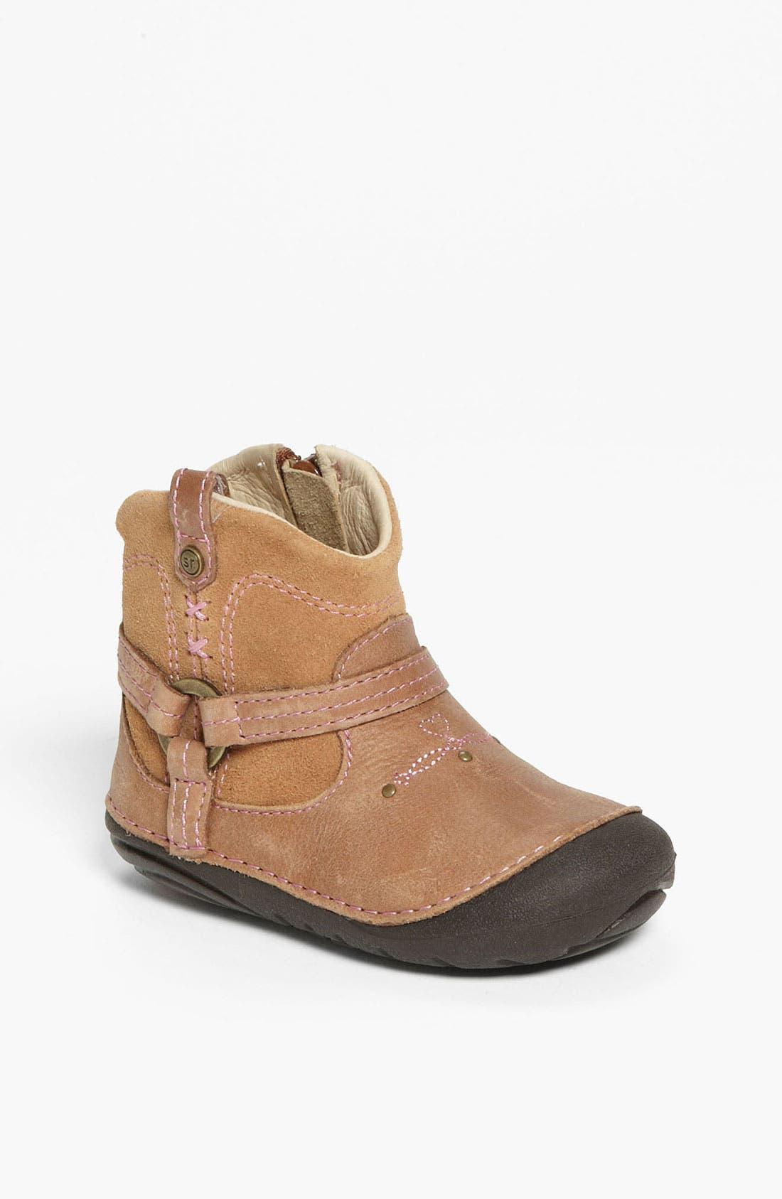 Alternate Image 1 Selected - Stride Rite 'Heather' Boot (Baby & Walker)