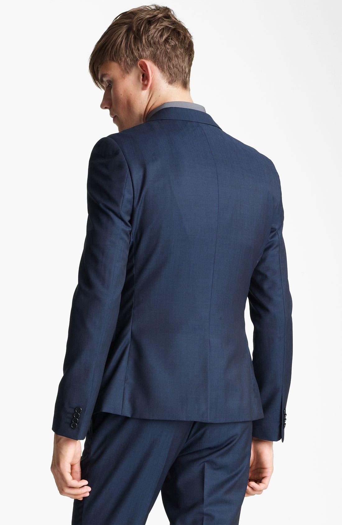 Alternate Image 2  - Topman 'Tonic' Skinny Blazer