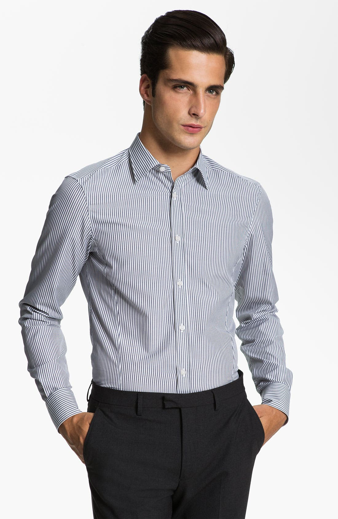 Main Image - Z Zegna Drop 8 Fit Dress Shirt