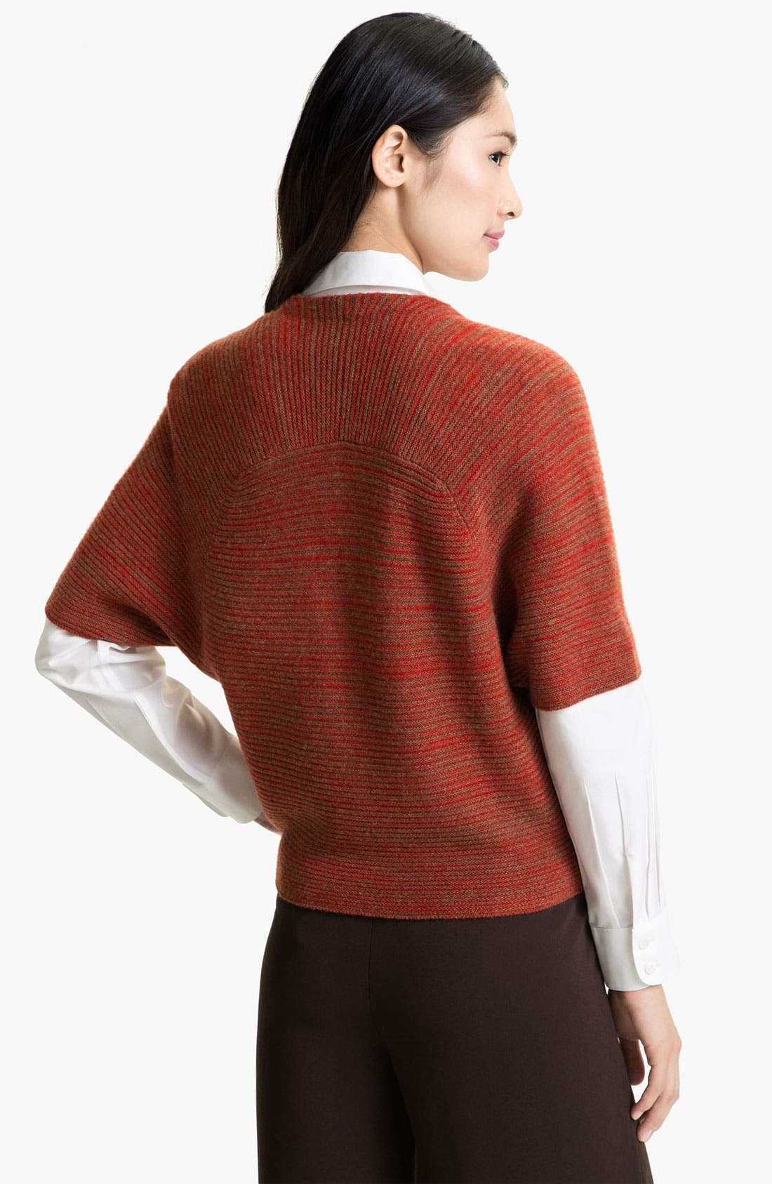 Alternate Image 2  - Nordstrom Collection Cashmere Shrug