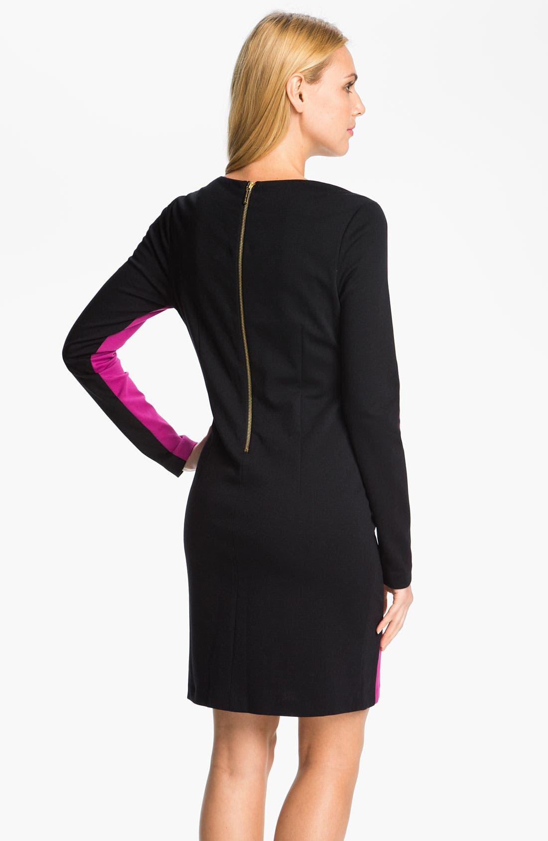 Alternate Image 2  - MICHAEL Michael Kors Colorblock Knit Shift Dress