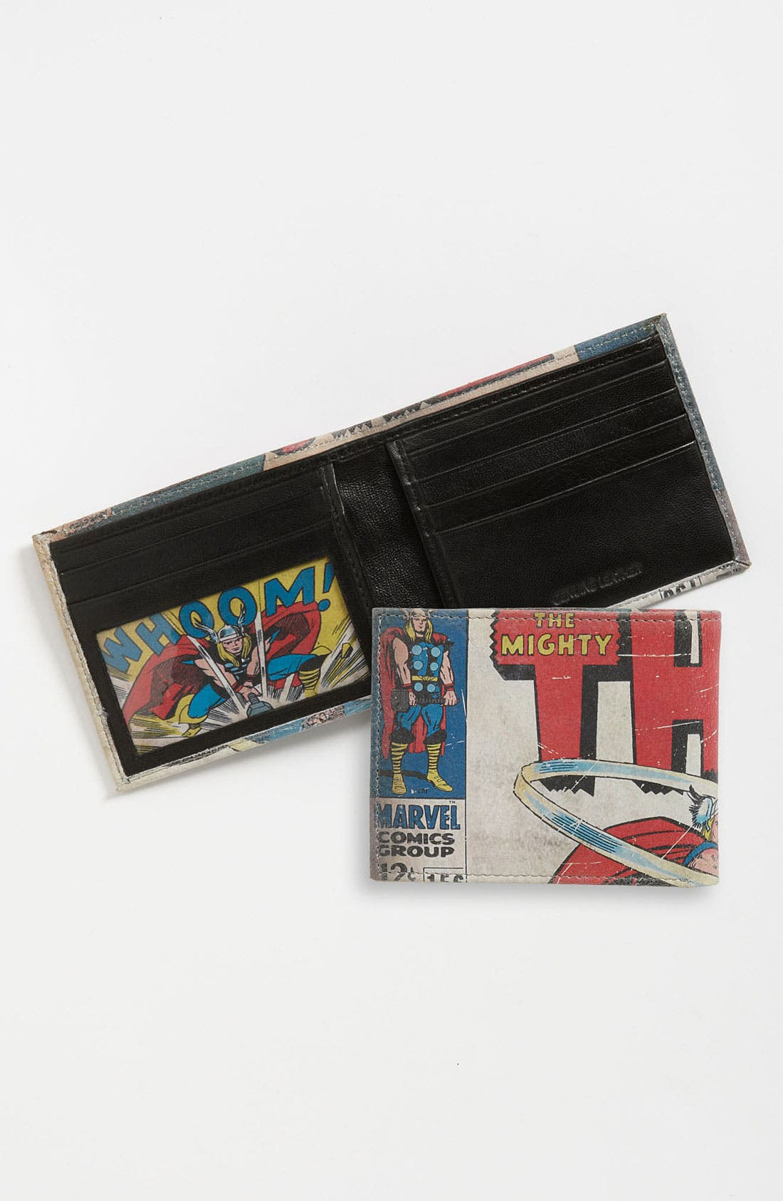 Alternate Image 1 Selected - Marvel 'Thor™' Printed Leather Wallet