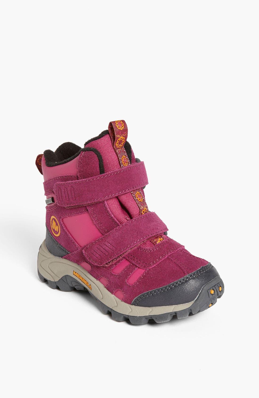 Alternate Image 1 Selected - Merrell 'Moab Polar Short Strap' Waterproof Boot (Toddler, Little Kid & Big Kid)