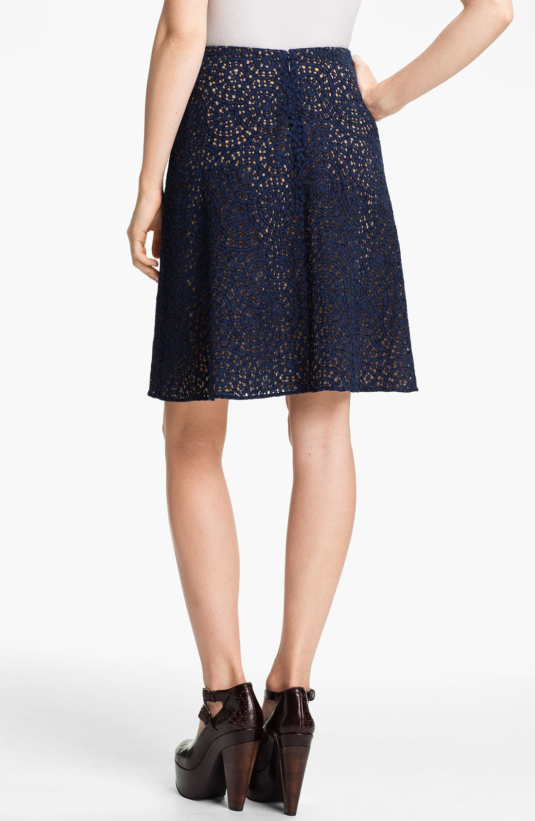 Alternate Image 2  - Carven Lace A-Line Skirt
