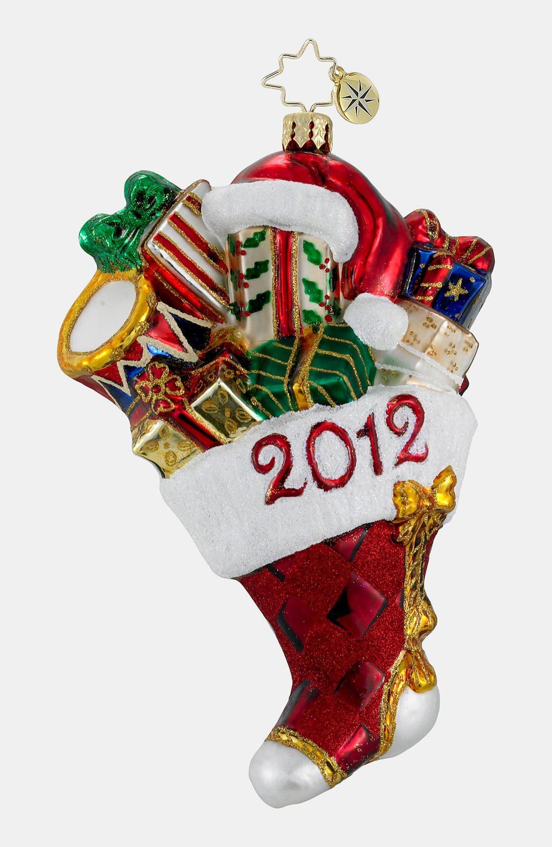 Alternate Image 1 Selected - Christopher Radko 'Presents-a-Plenty' Ornament