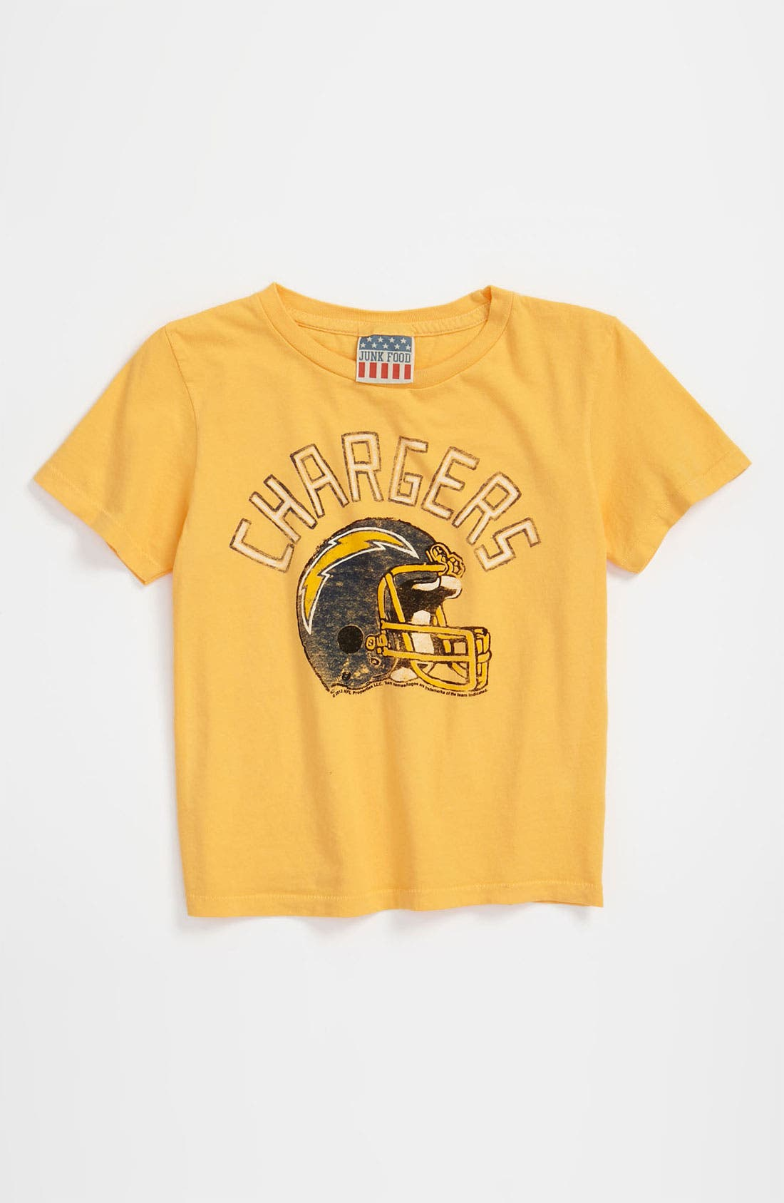 Alternate Image 1 Selected - Junk Food 'San Diego Chargers' T-Shirt (Infant)