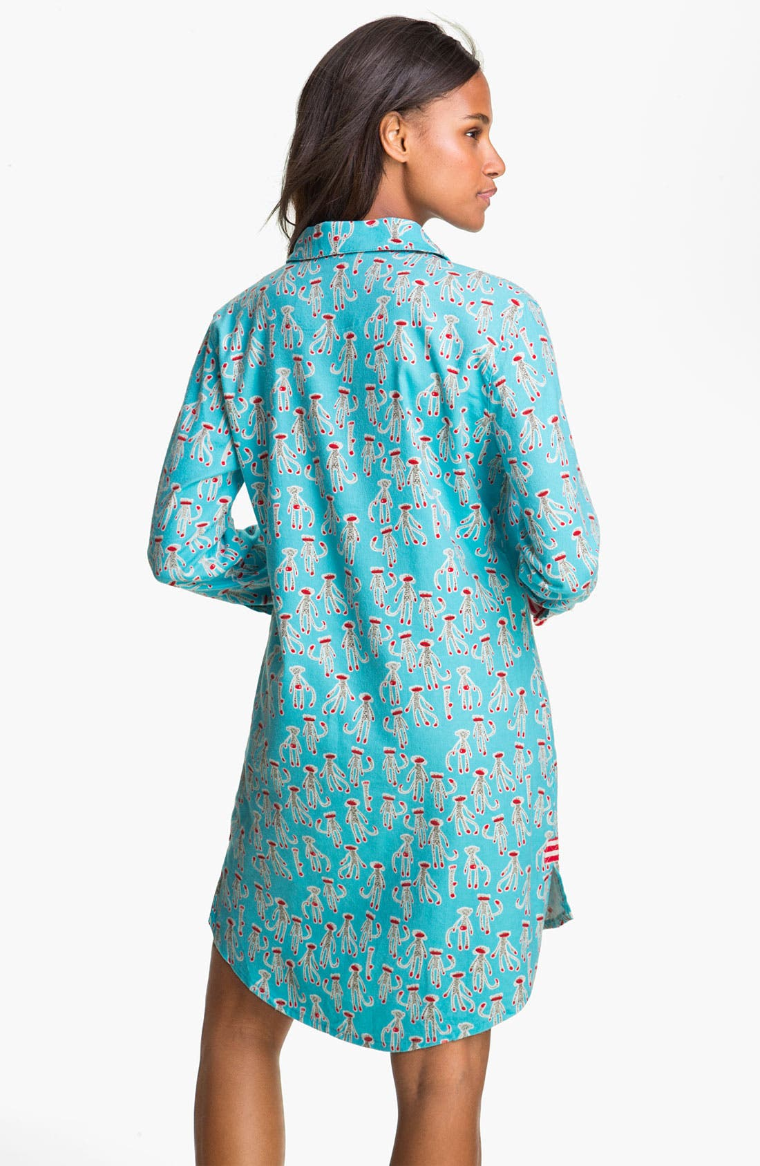 Alternate Image 2  - Munki Munki Flannel Nightshirt