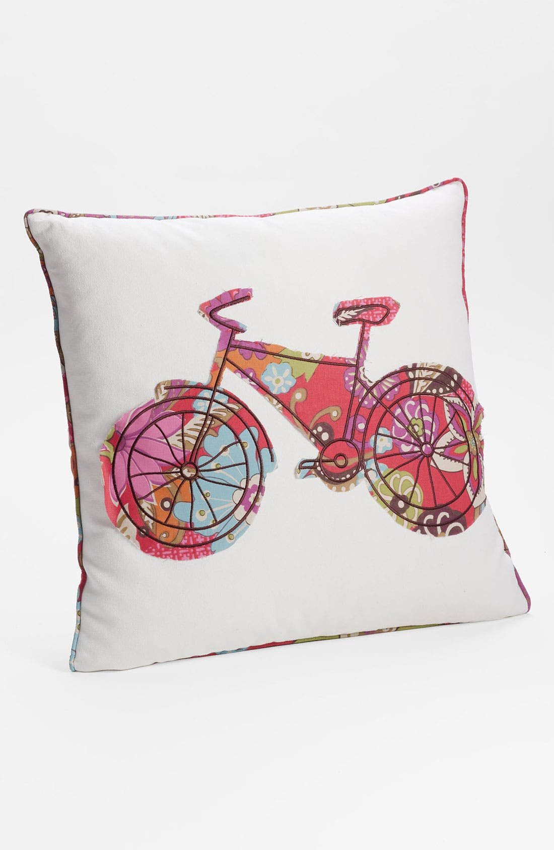 Alternate Image 1 Selected - Levtex 'Bicycle' Pillow