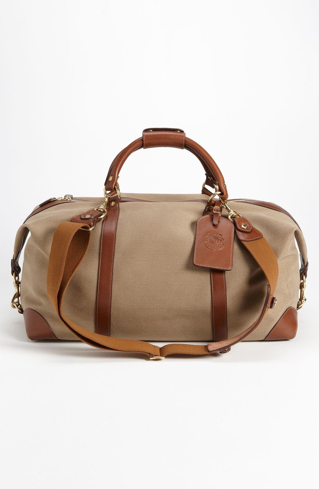 Alternate Image 4  - Ghurka 'Cavalier II' Twill Duffel Bag