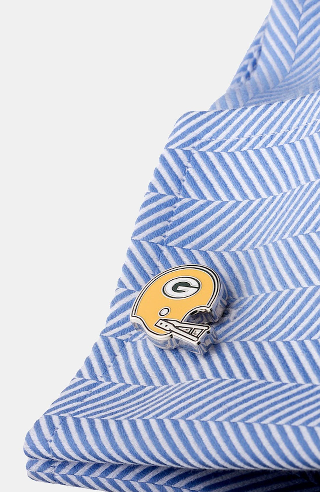 Alternate Image 2  - Cufflinks, Inc. 'Retro Green Bay Packers' Cuff Links