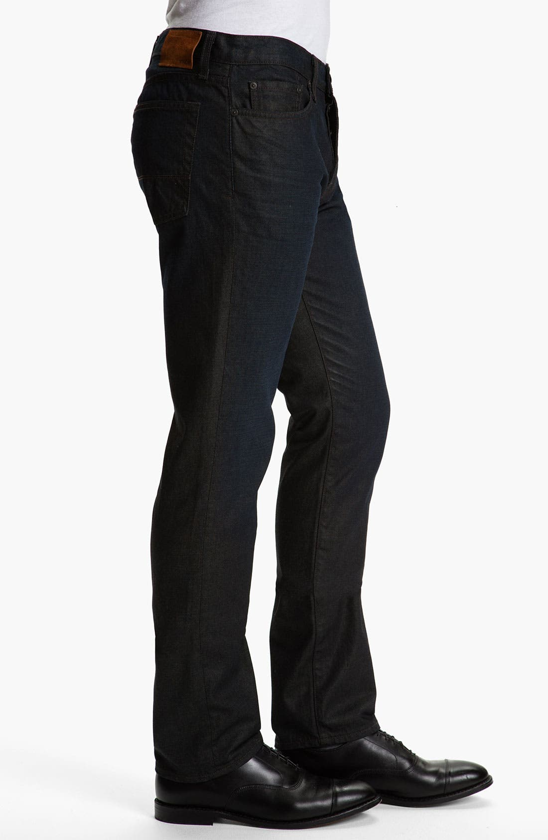 Alternate Image 3  - Vince Slim Straight Leg Jeans (Dark Clean)