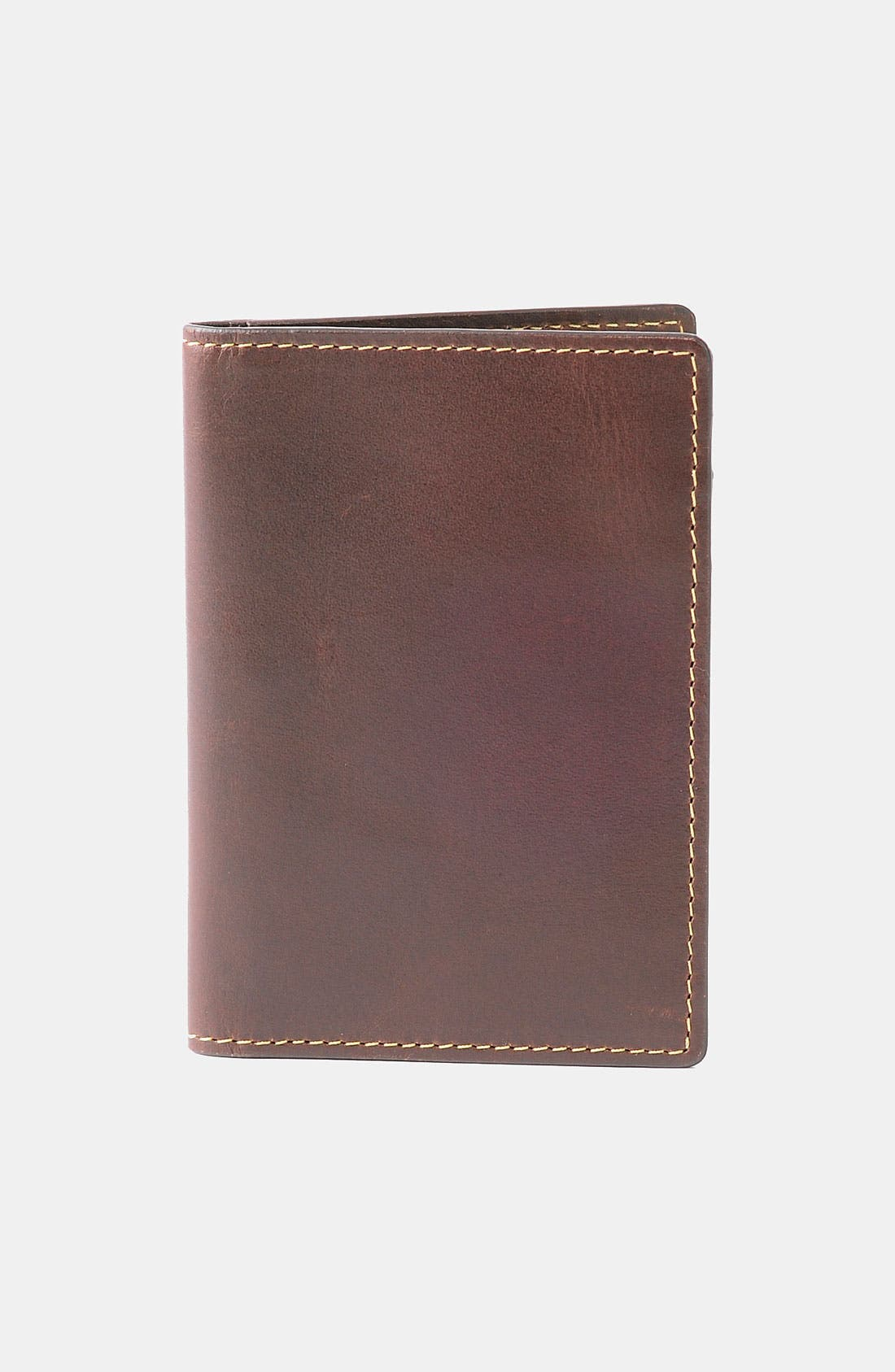 Alternate Image 1 Selected - Boconi 'Bryant - Slim' RFID Blocker Leather Card Case