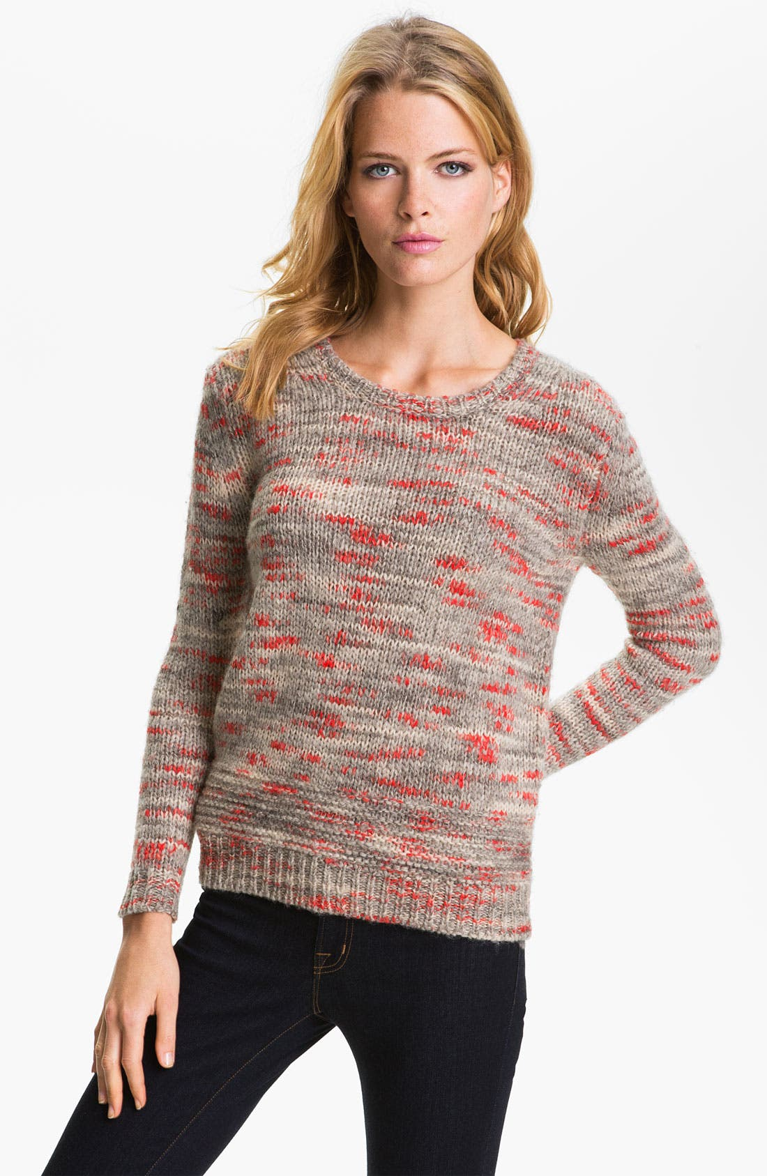 Main Image - Theory 'Jaidyn B.' Marled Sweater (Online Exclusive)