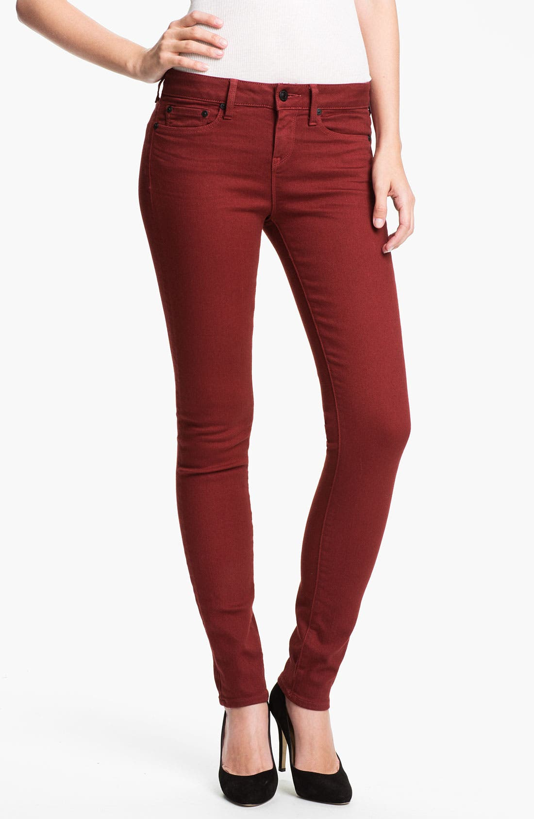 Main Image - Vince Colored Stretch Skinny Jeans