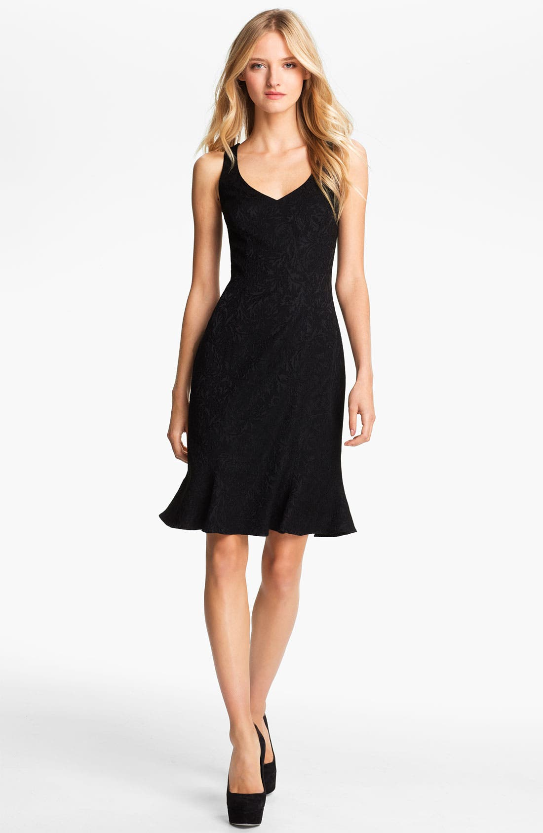 Main Image - Jay Godfrey 'Crawford' Jacquard Dress (Nordstrom Exclusive)