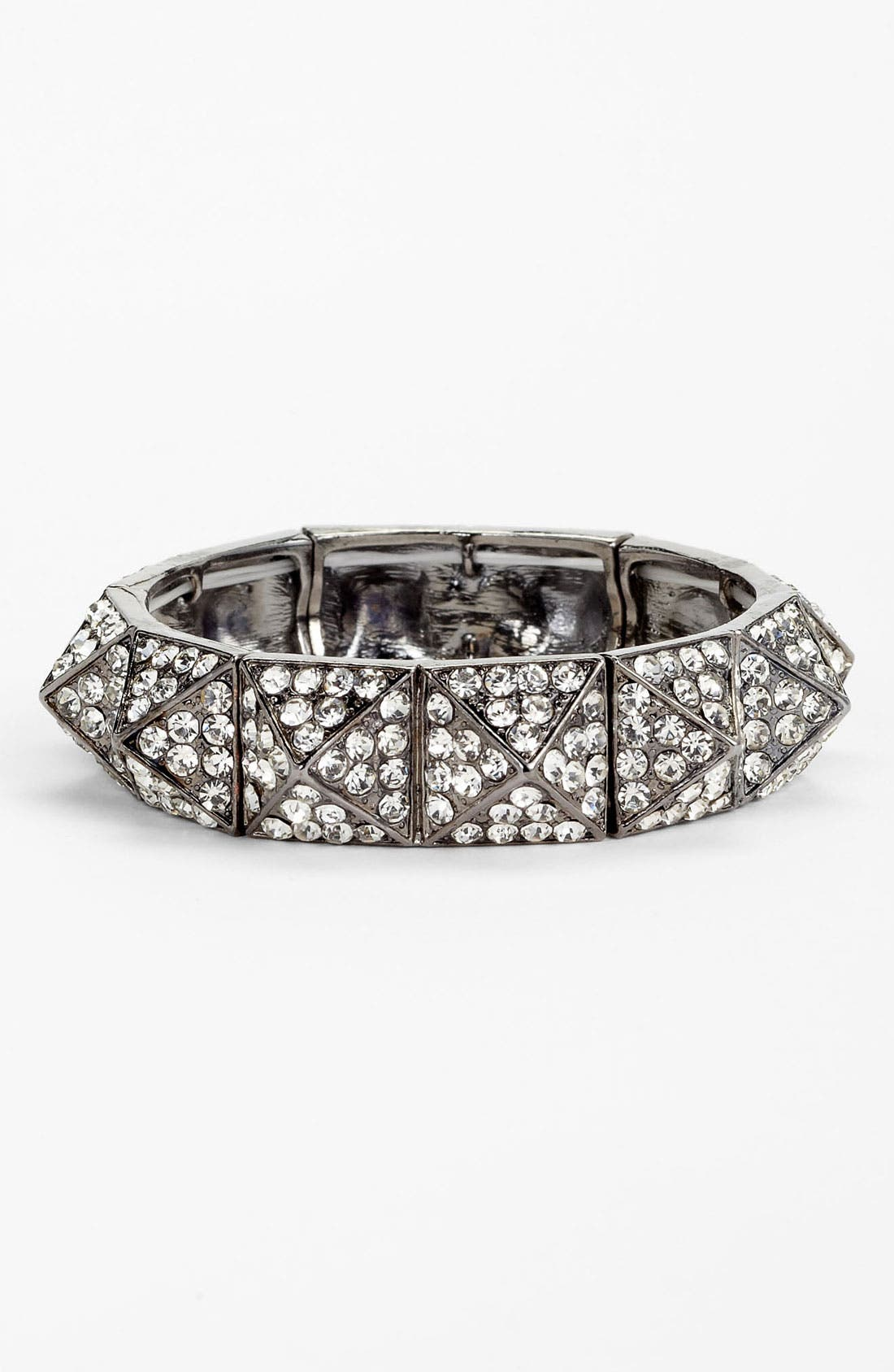 Alternate Image 1 Selected - BP. Rhinestone Pyramid Bracelet