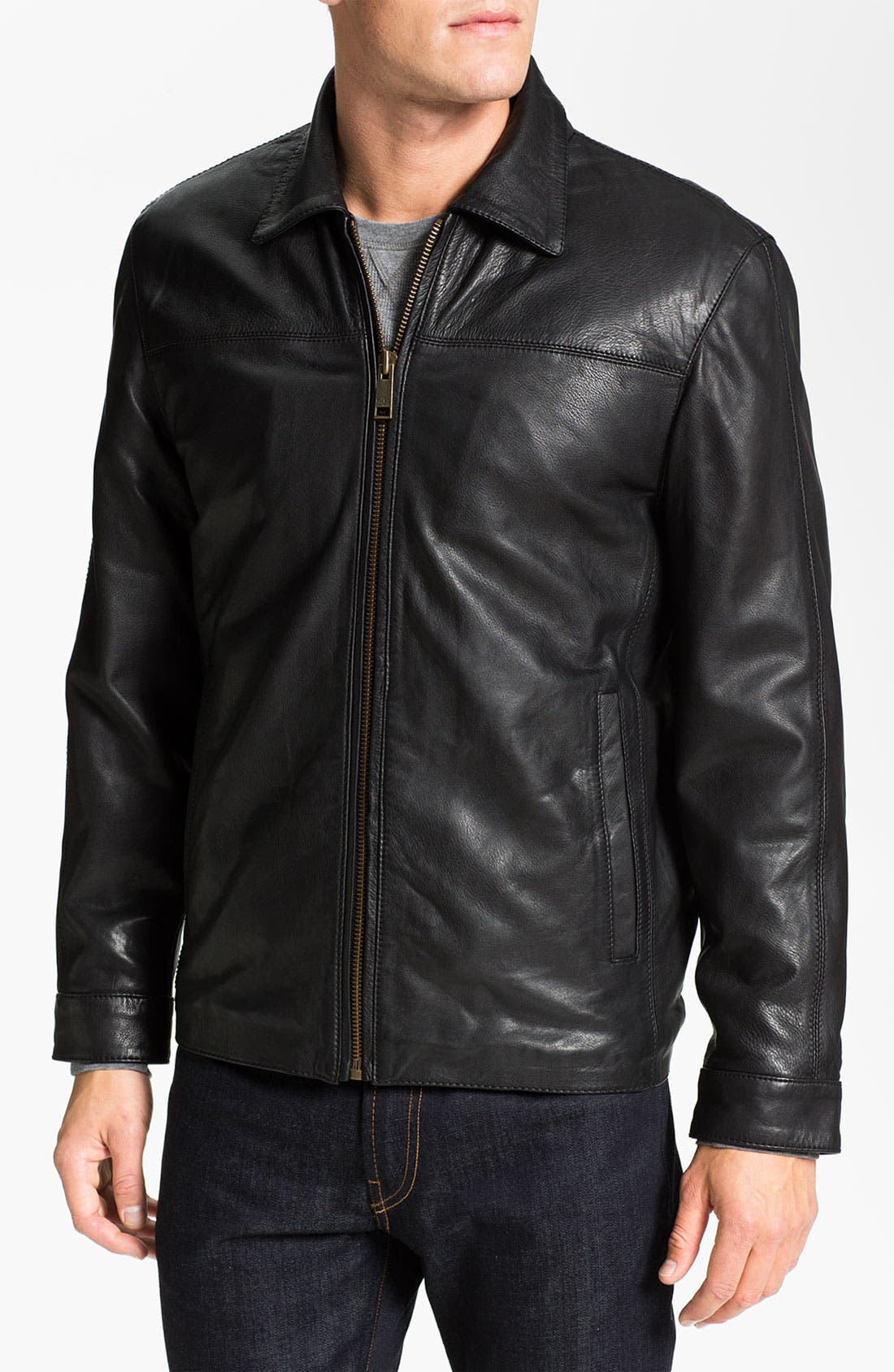 Alternate Image 1 Selected - Marc New York by Andrew Marc 'Eli' Leather Jacket