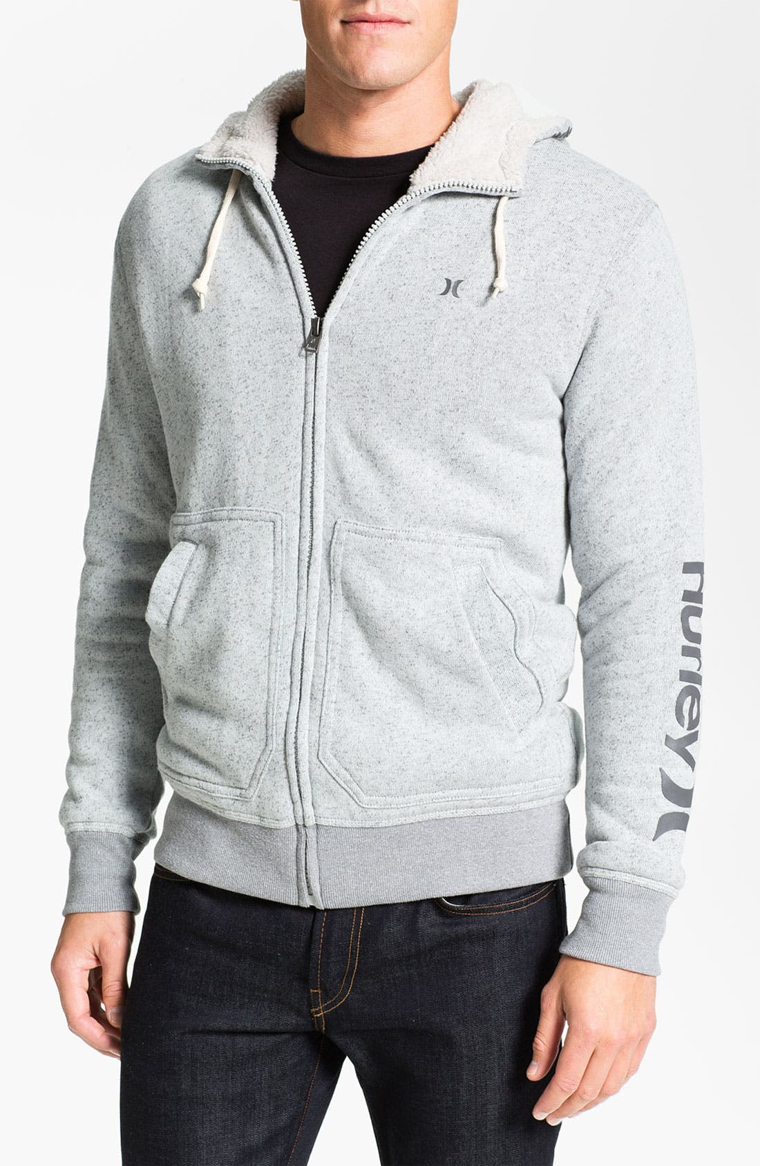 Main Image - Hurley 'Retreat' Zip Hoodie