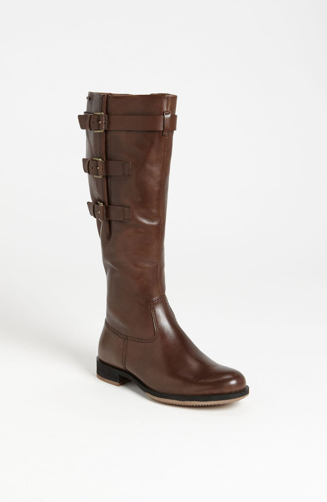 Alternate Image 1 Selected - ECCO 'Saunter GTX Tall 3 Buckle' Boot