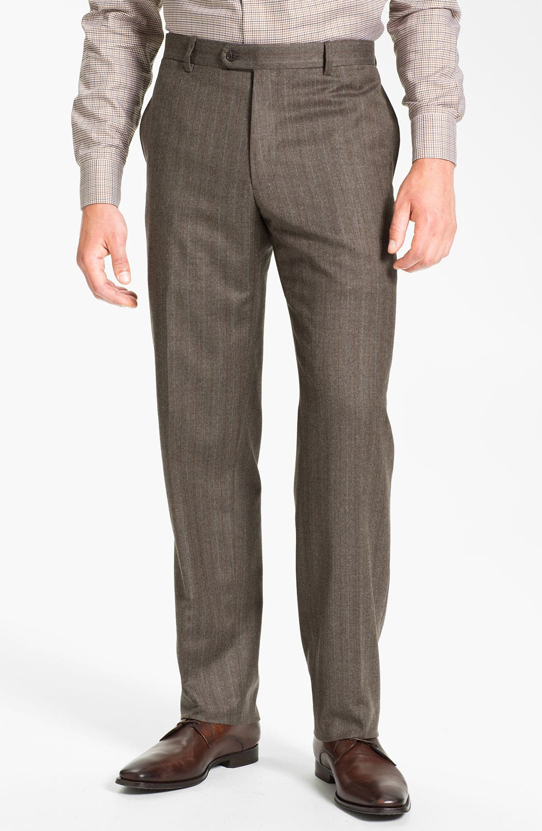 Alternate Image 4  - Joseph Abboud 'Profile' Stripe Wool Suit