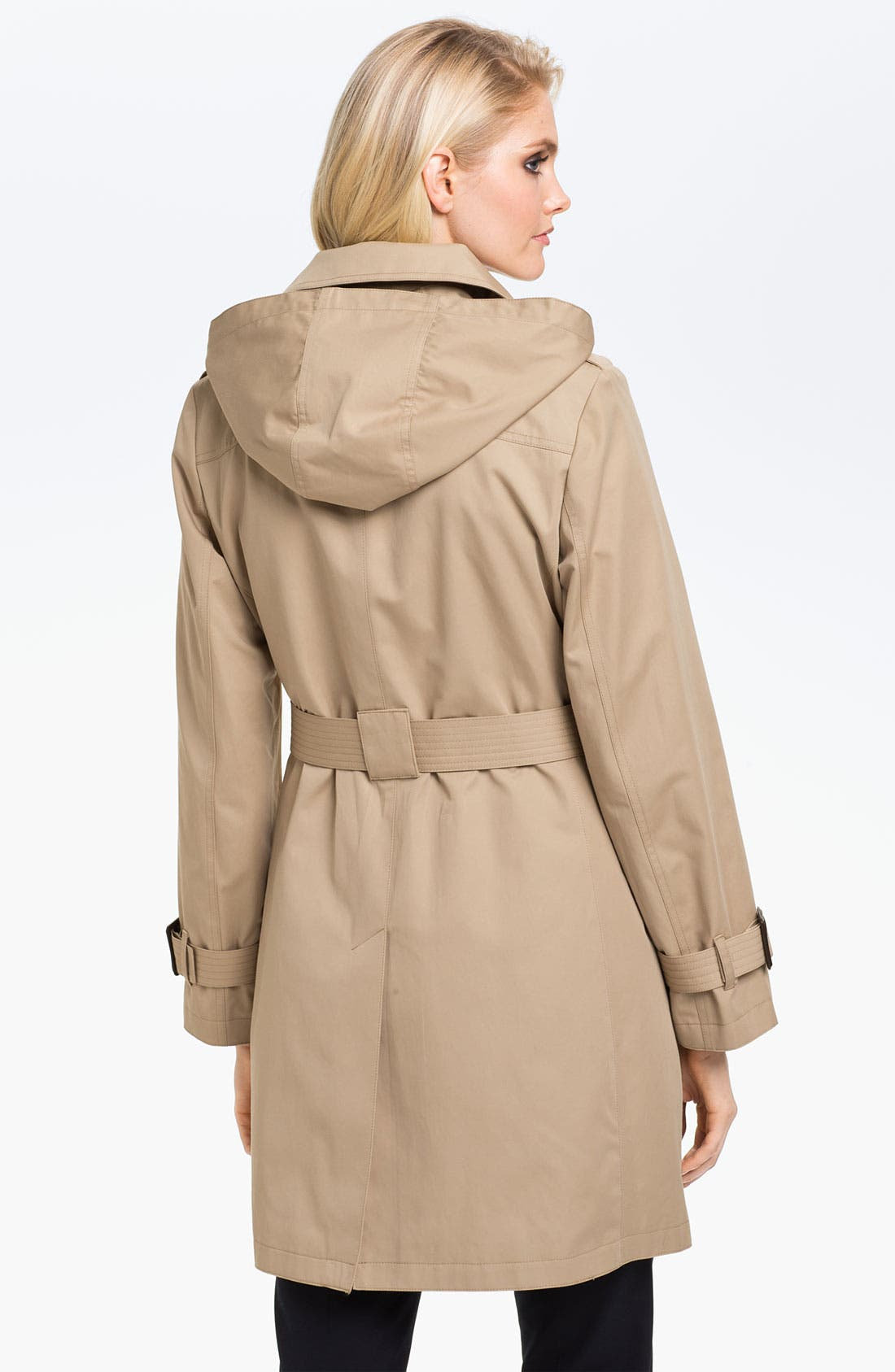 Alternate Image 2  - MICHAEL Michael Kors Belted Trench with Detachable Liner