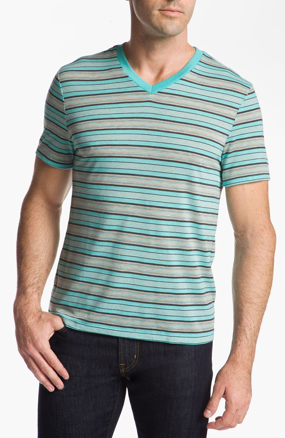 Alternate Image 1 Selected - The Rail by Public Opinion Stripe T-Shirt