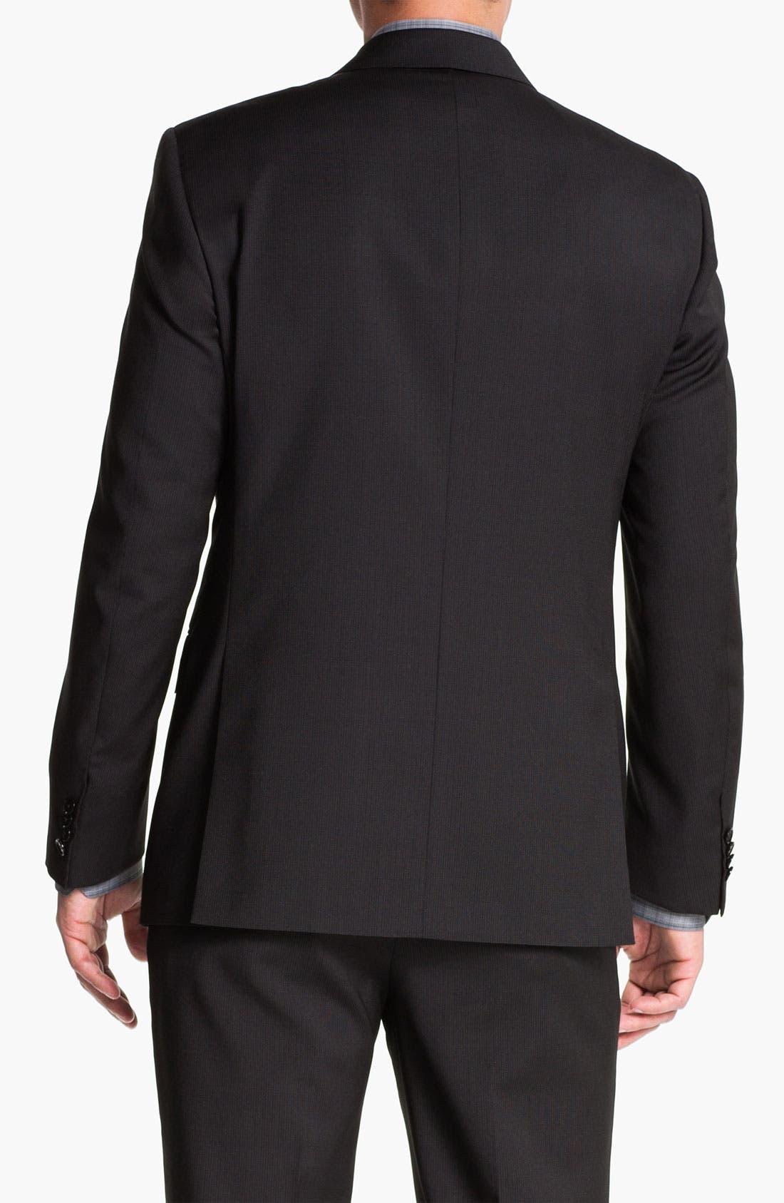 Alternate Image 8  - Pal Zileri Trim Fit Wool Suit