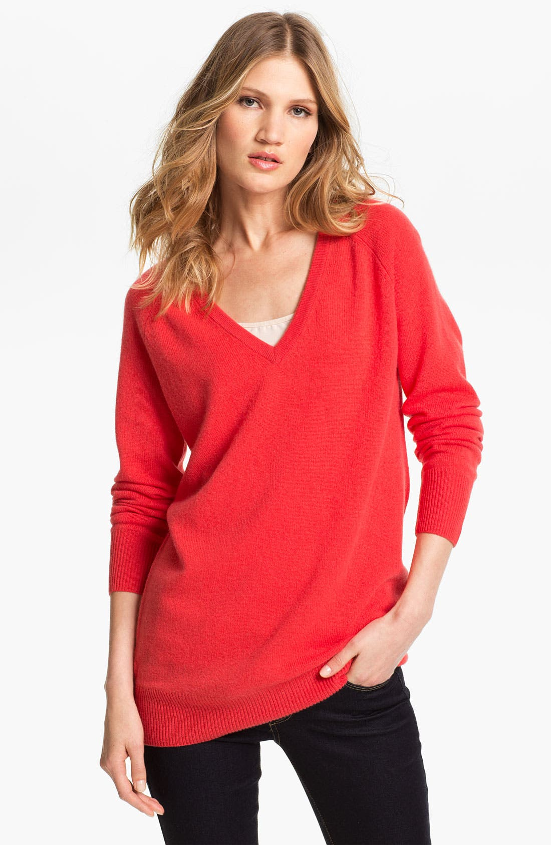Alternate Image 1 Selected - Equipment 'Asher' V-Neck Cashmere Sweater