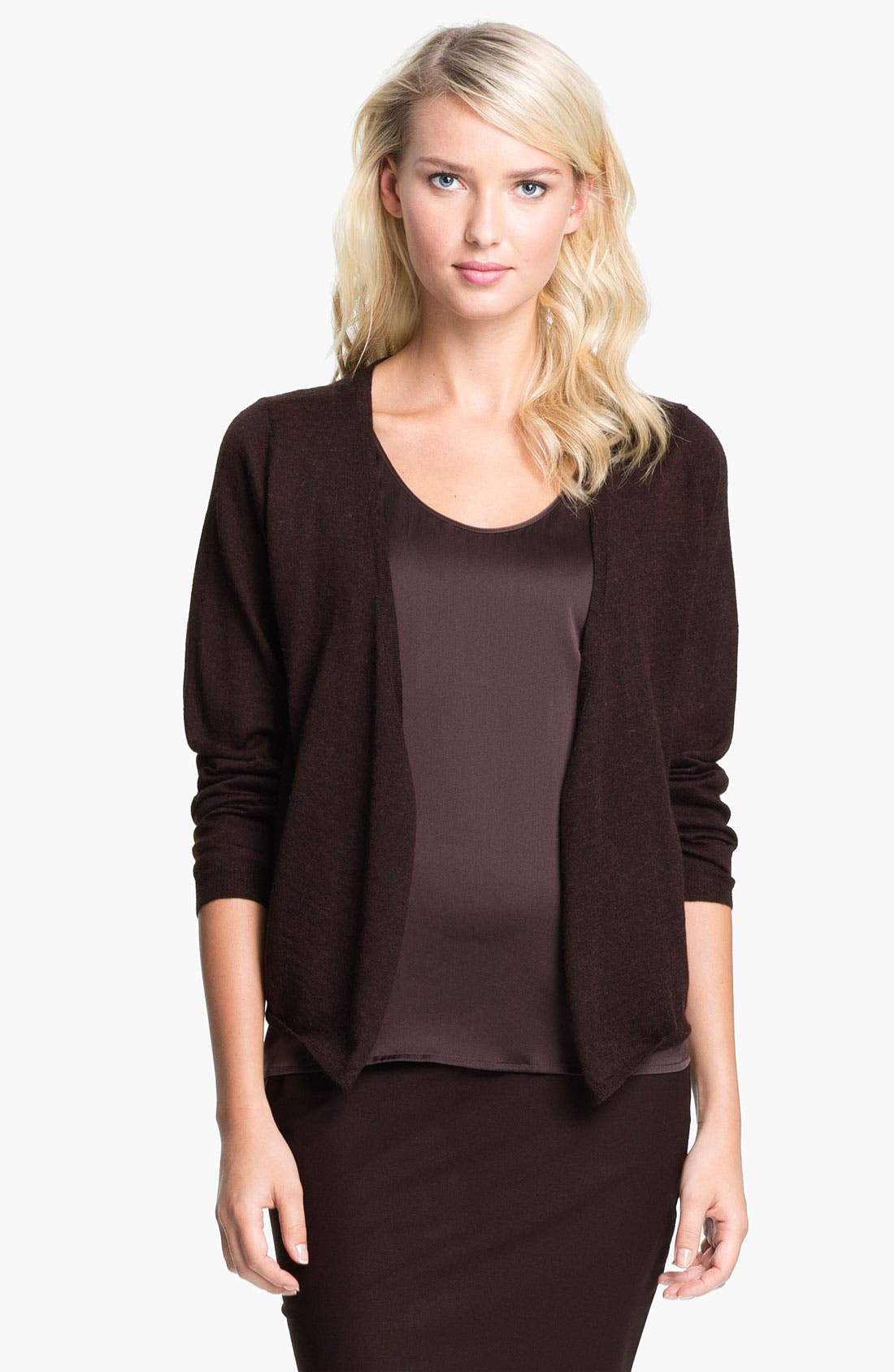 Alternate Image 1 Selected - Eileen Fisher Alpaca Cardigan