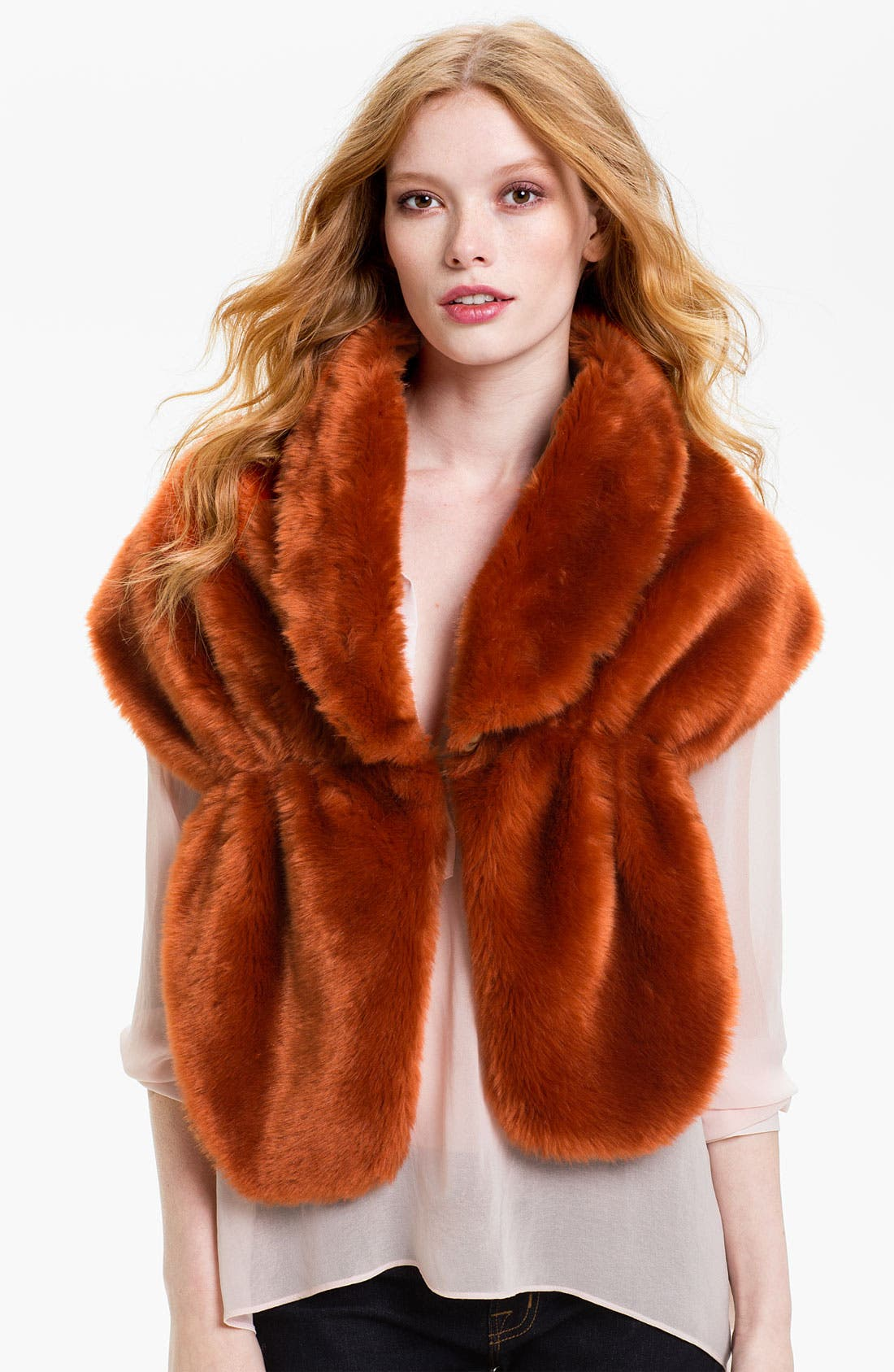 Alternate Image 1 Selected - La Fiorentina Faux Fur Stole