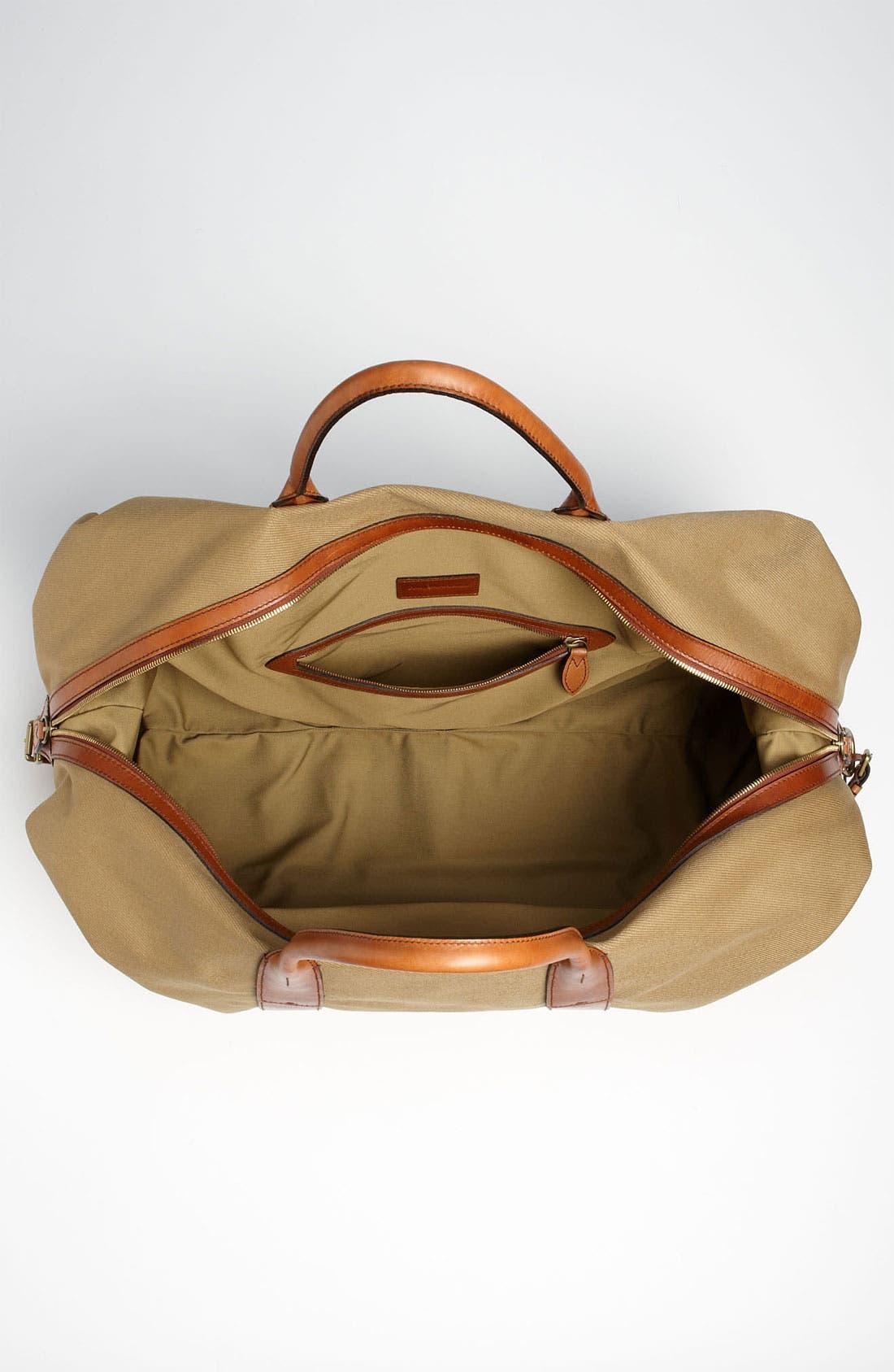 Alternate Image 3  - Polo Ralph Lauren Canvas Duffel Bag