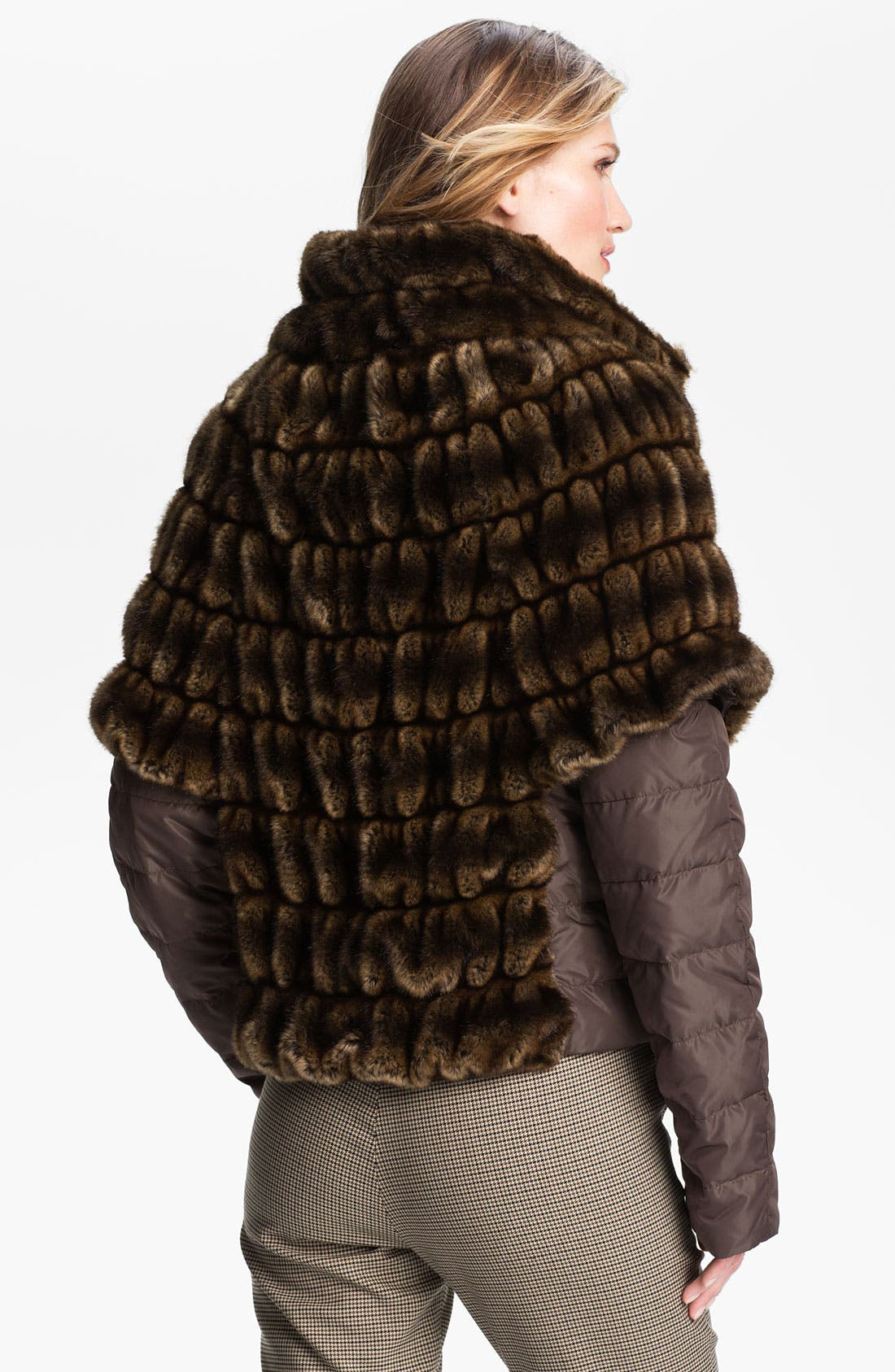 Alternate Image 2  - Weekend Max Mara 'Taso' Faux Fur Jacket