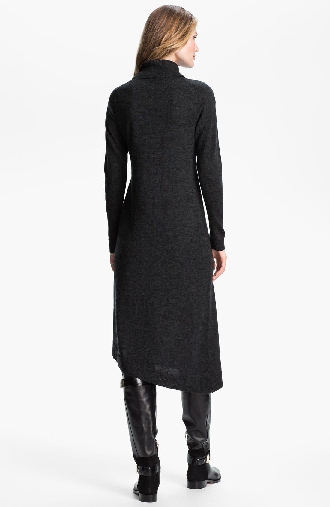 Alternate Image 2  - Eileen Fisher Merino Jersey Sweater Dress