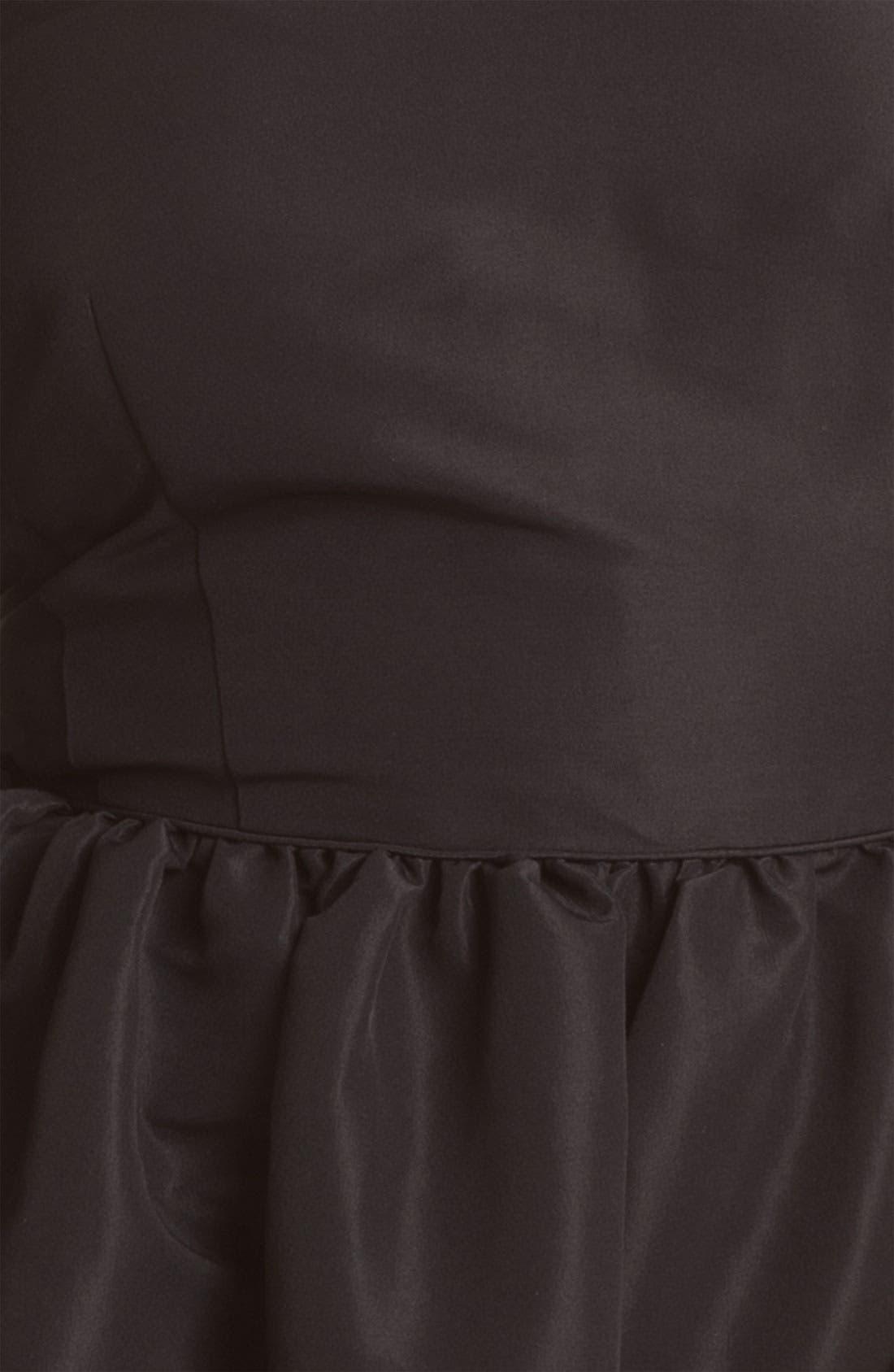 Alternate Image 3  - Original Frenchi Bubble Strapless Dress (Juniors)