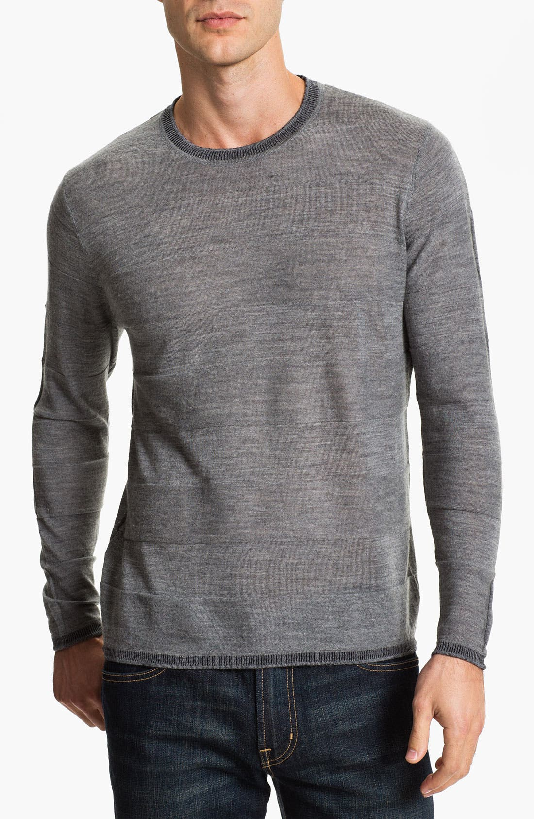 Alternate Image 1 Selected - W.R.K 'Empire' Wool Crewneck Sweater