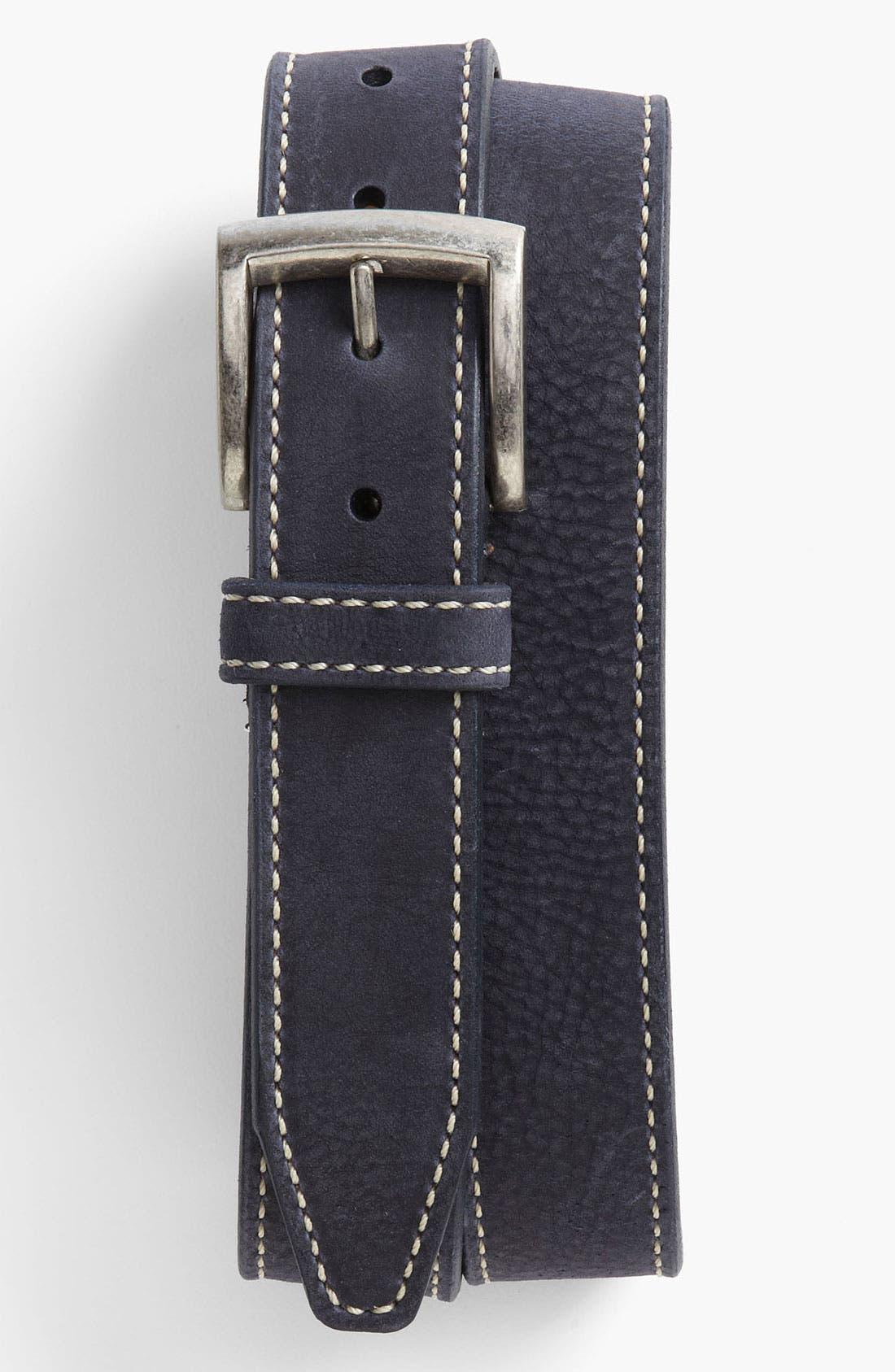 Alternate Image 1 Selected - Allen Edmonds 'Cottonwood' Leather Belt