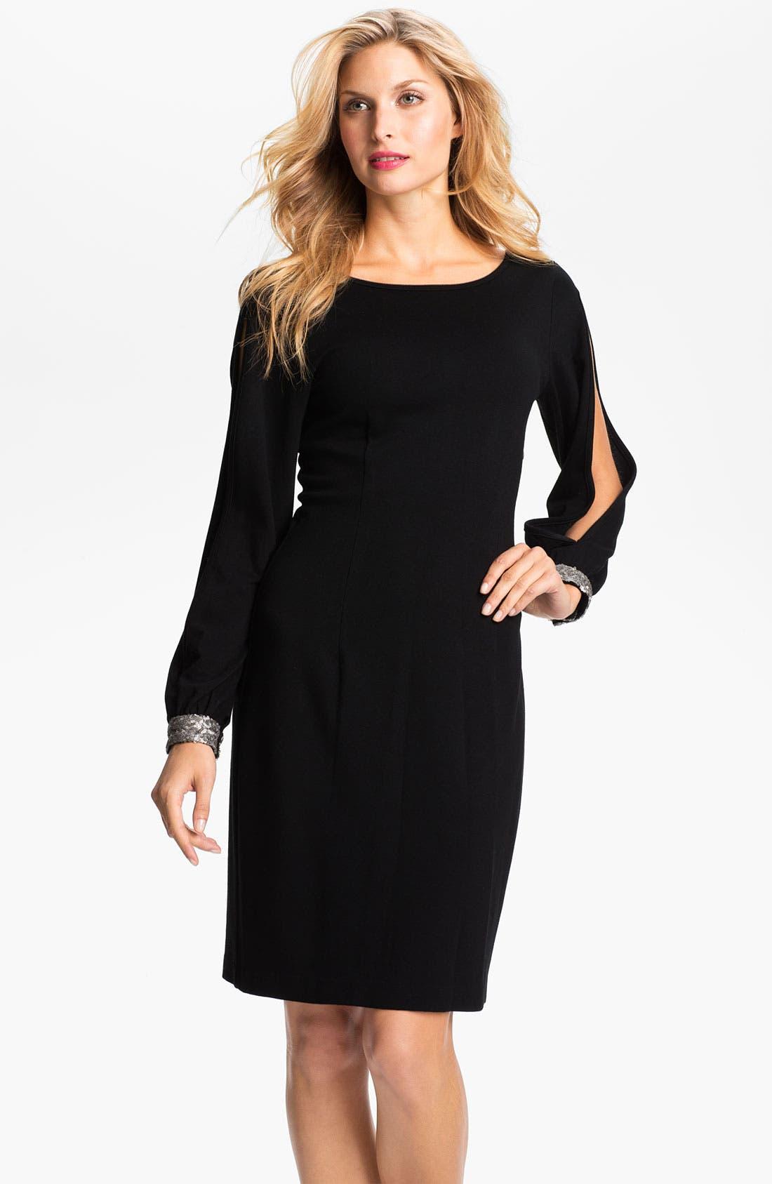 Alternate Image 1 Selected - Karen Kane 'Wensi' Split Sleeve Dress