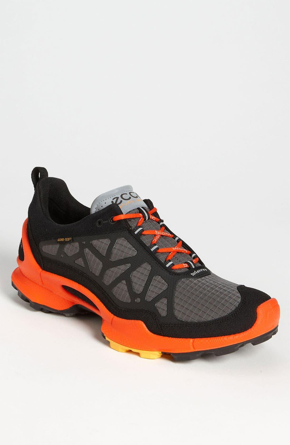 Alternate Image 1 Selected - ECCO 'Biom Trail GTX' Running Shoe (Men)