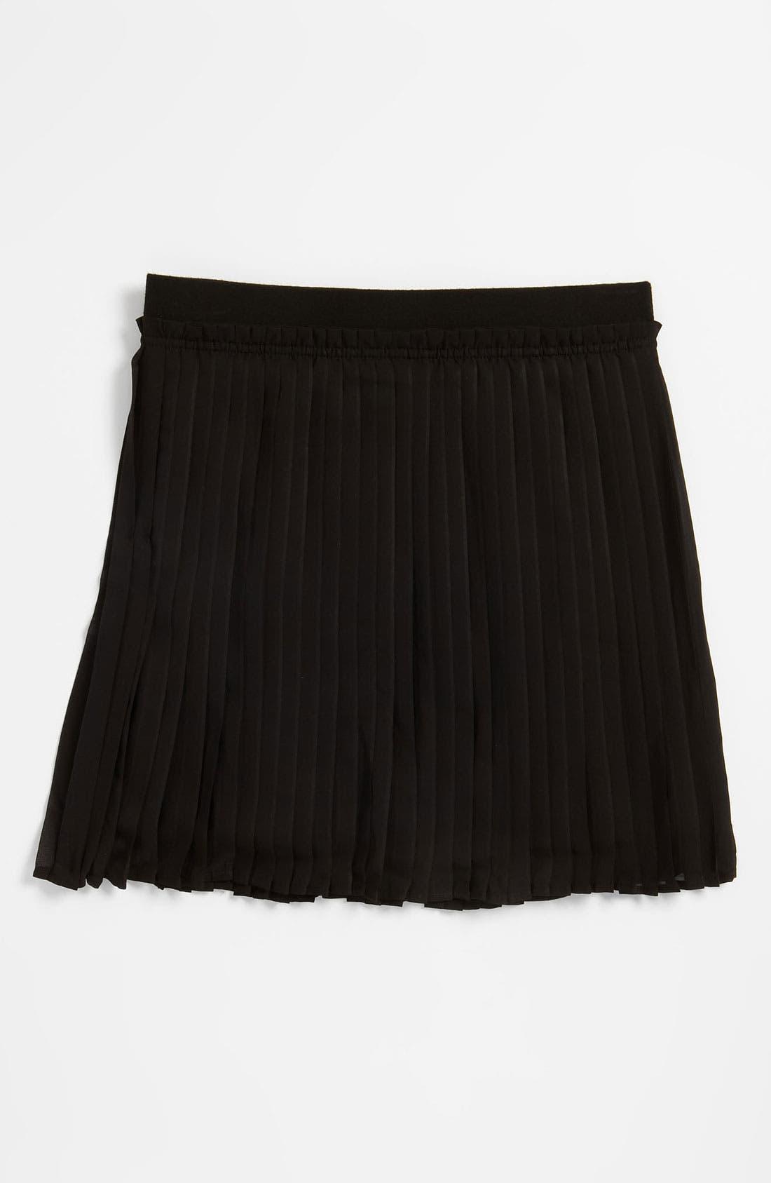 Alternate Image 1 Selected - Ruby & Bloom 'Eloise' Pleated Skirt (Little Girls)