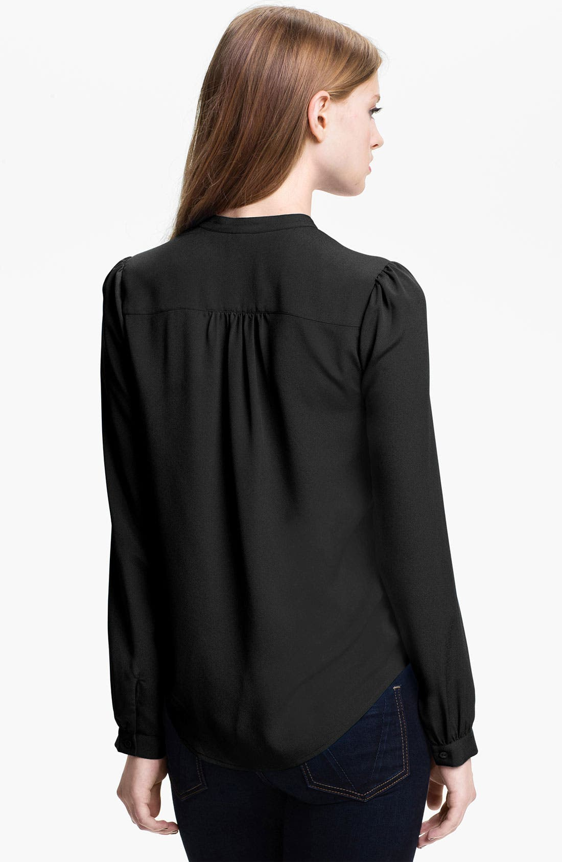 Alternate Image 2  - BP. Tuxedo Shirt (Juniors)