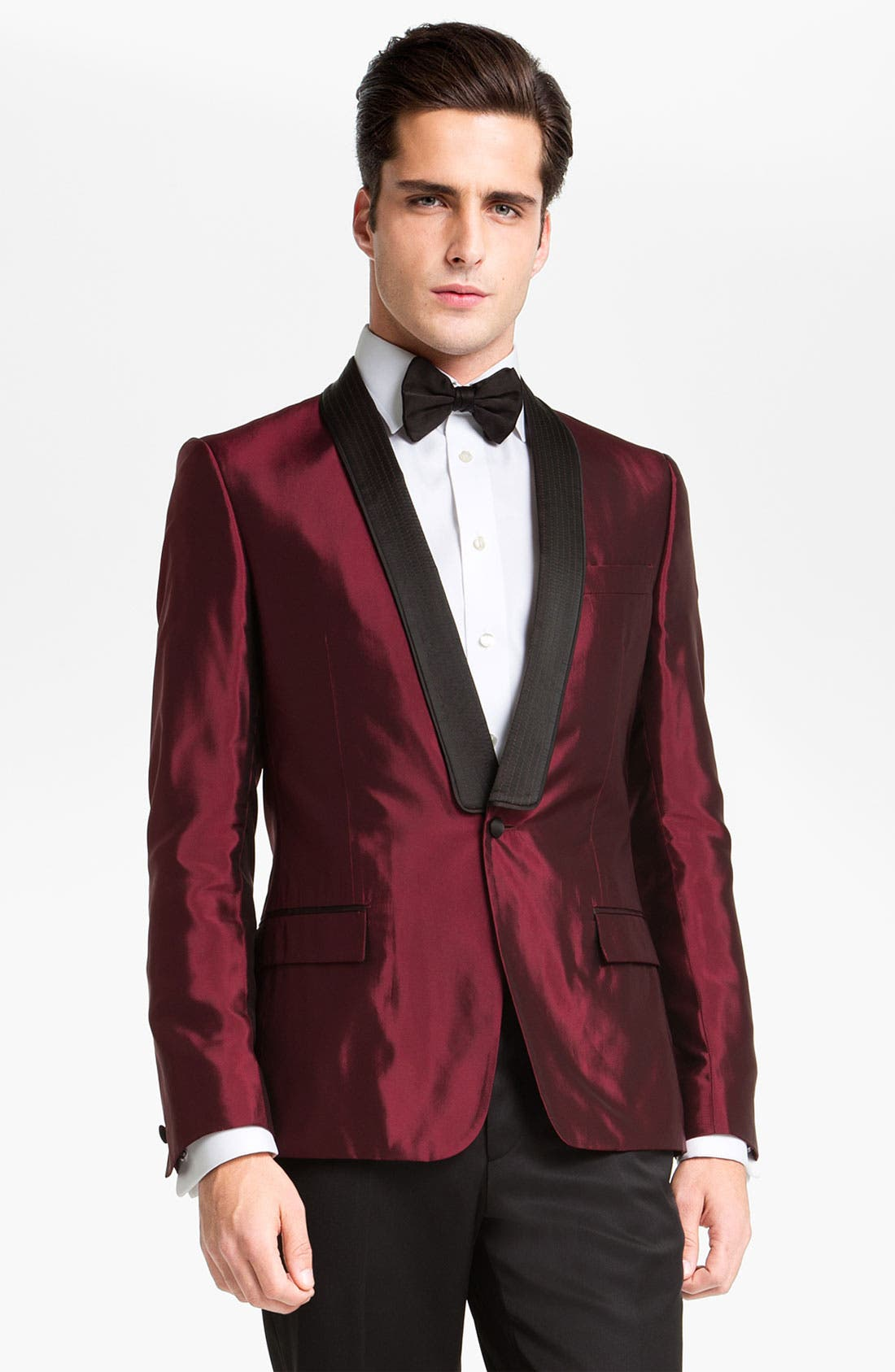 Main Image - Versace Trim Fit Dinner Jacket